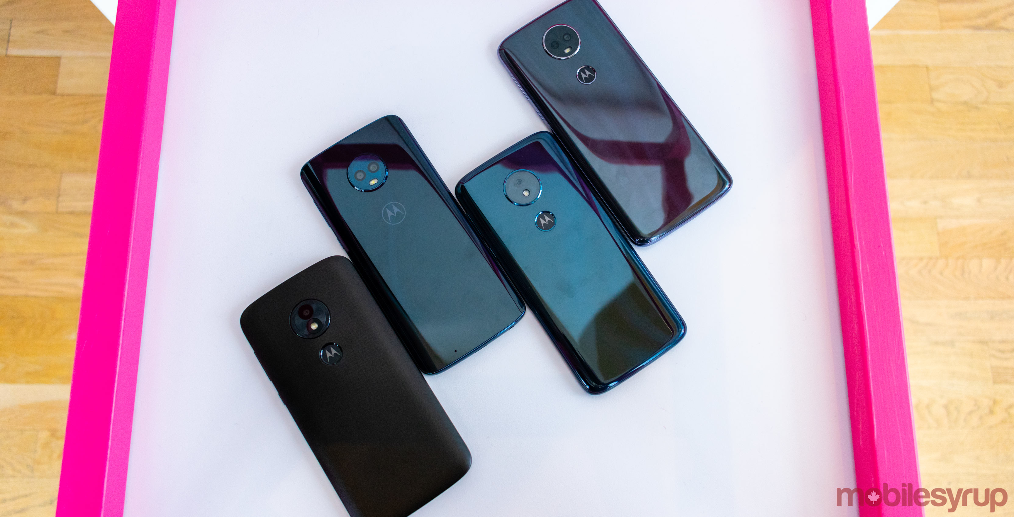 Moto G6, G6 Play, E5 Plus and E5 Play Hands-on: Moving the