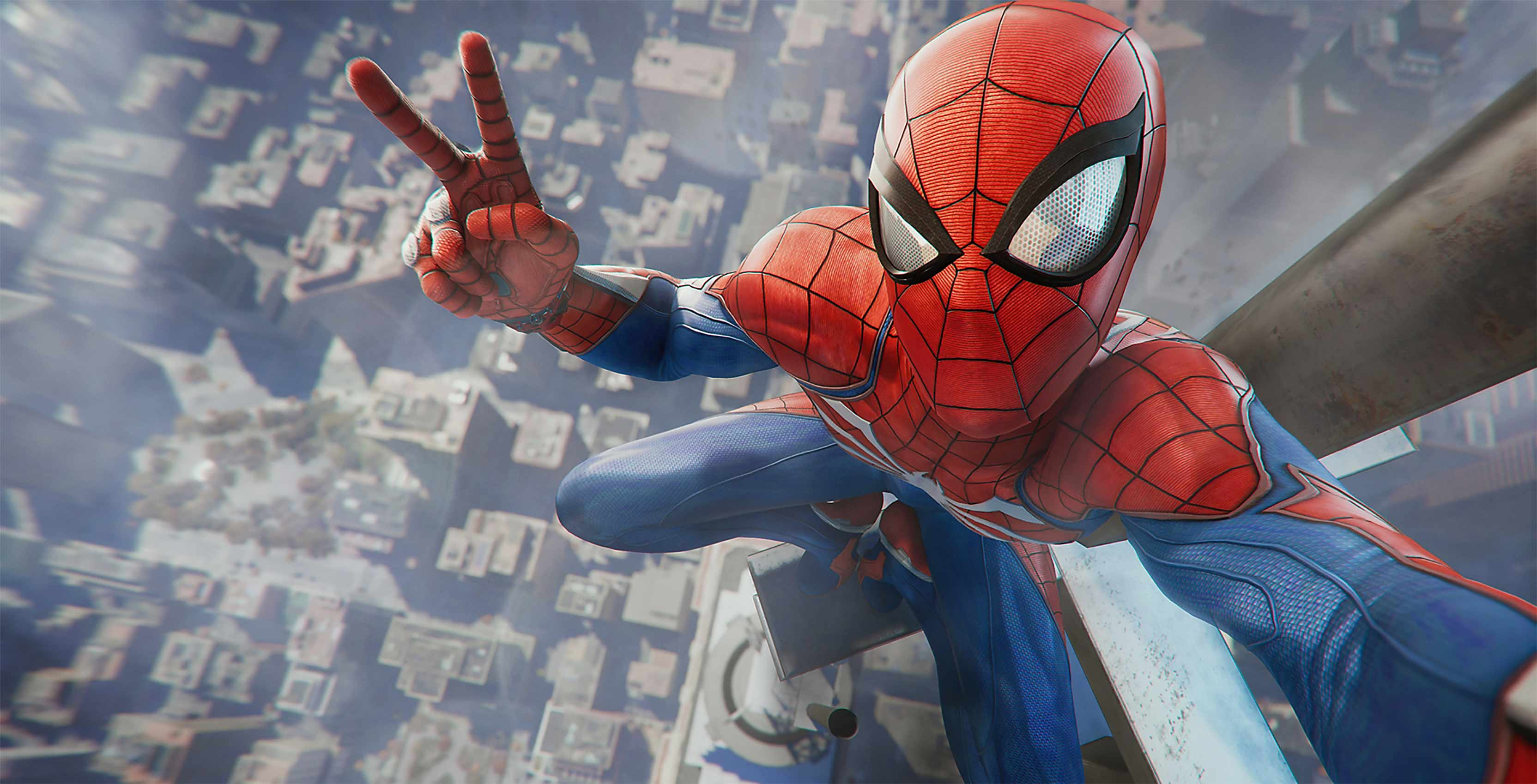 Games Released With Ps4 : Sony reveals spider man ps release date gameplay details