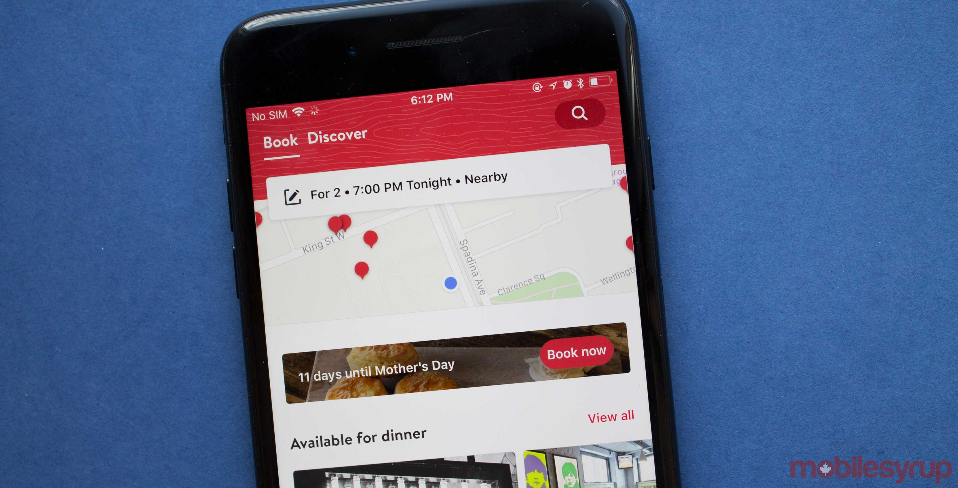 OpenTable App Now Better At Recommending Places To Eat - Open table dinner