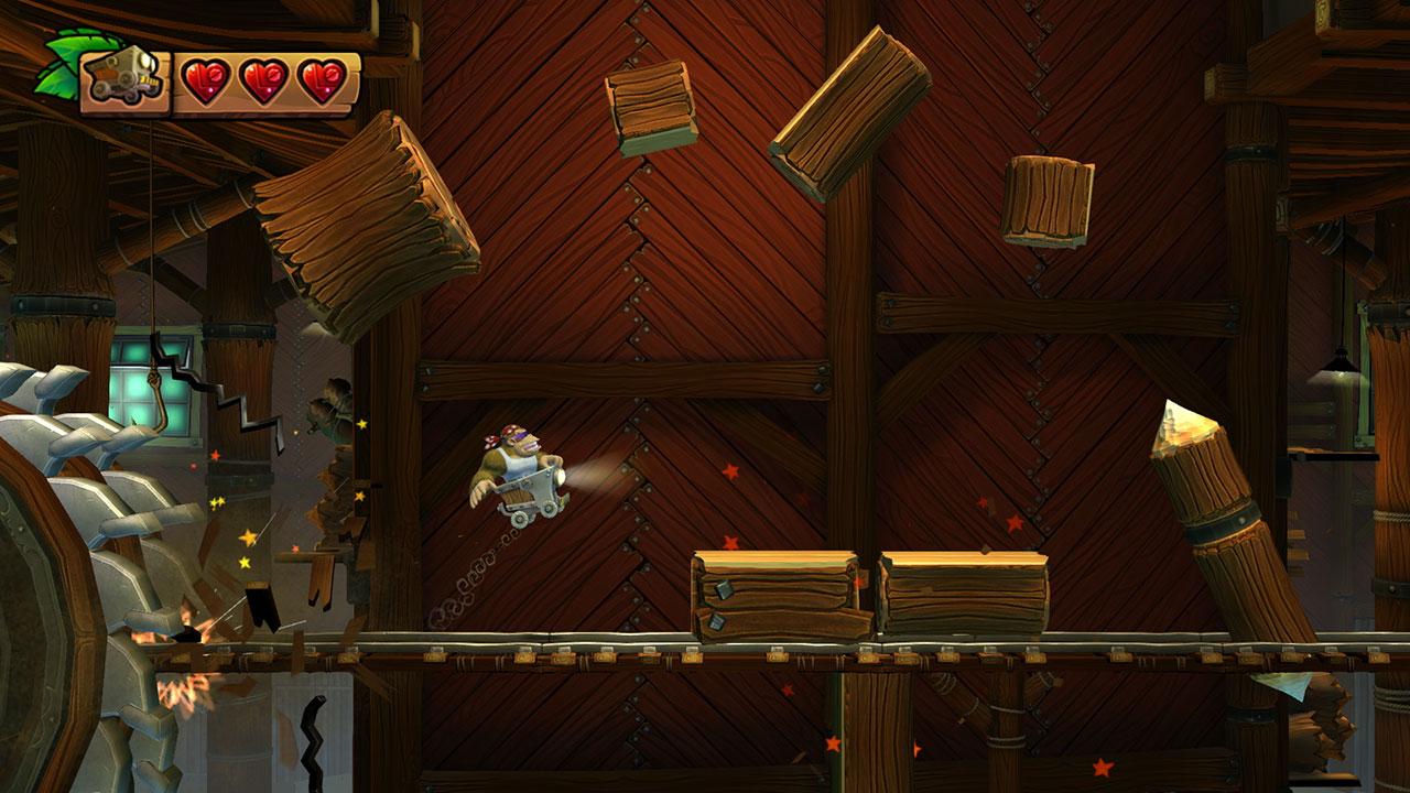 Donkey Kong Country Tropical Freeze Screenshot