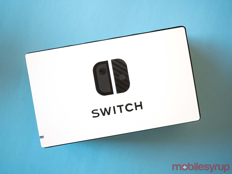 dbrand Nintendo Switch dock skin