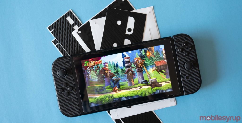 Dbrand S Custom Nintendo Switch Skins Are Great And Don T Damage