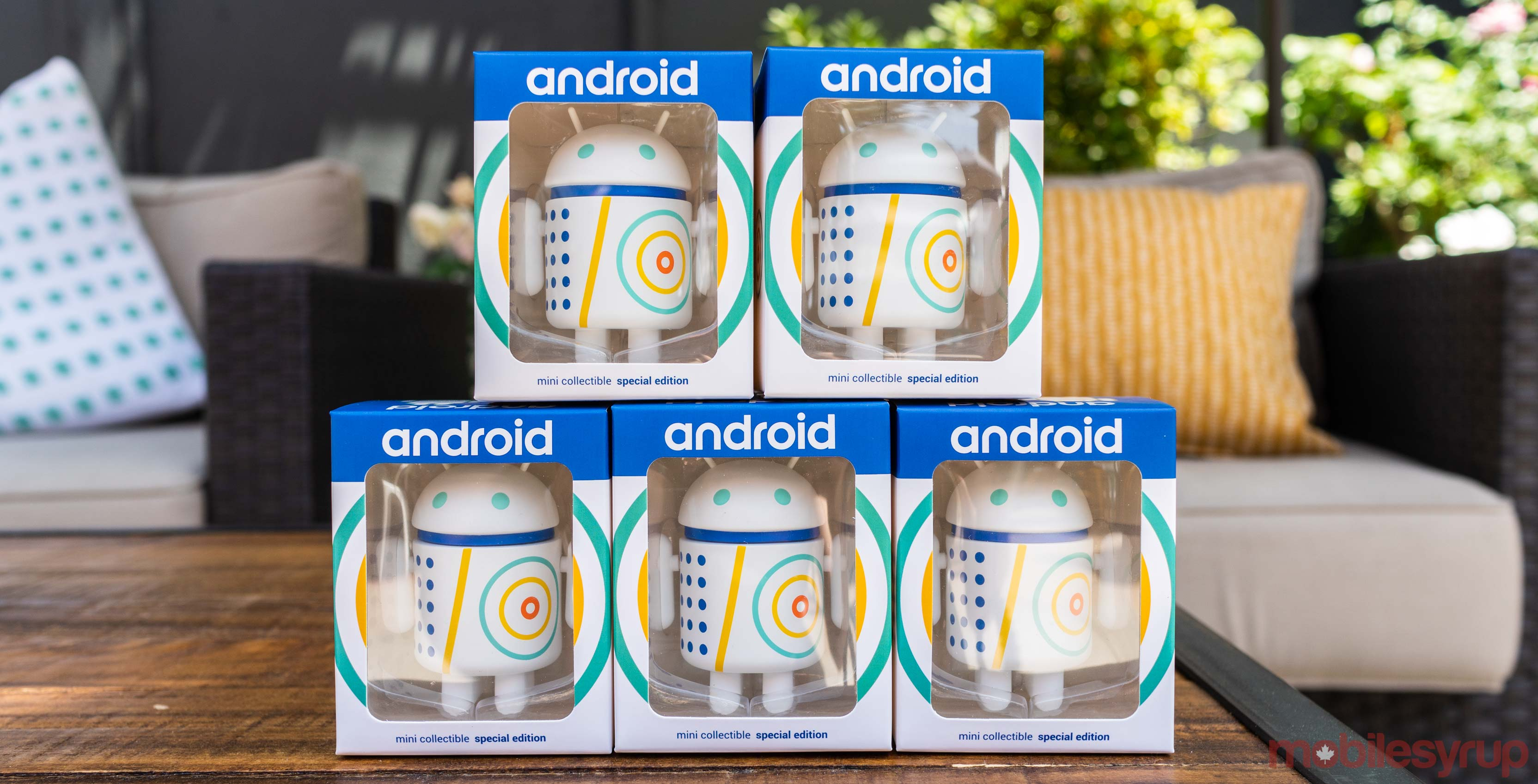 Google I/O Android collectables