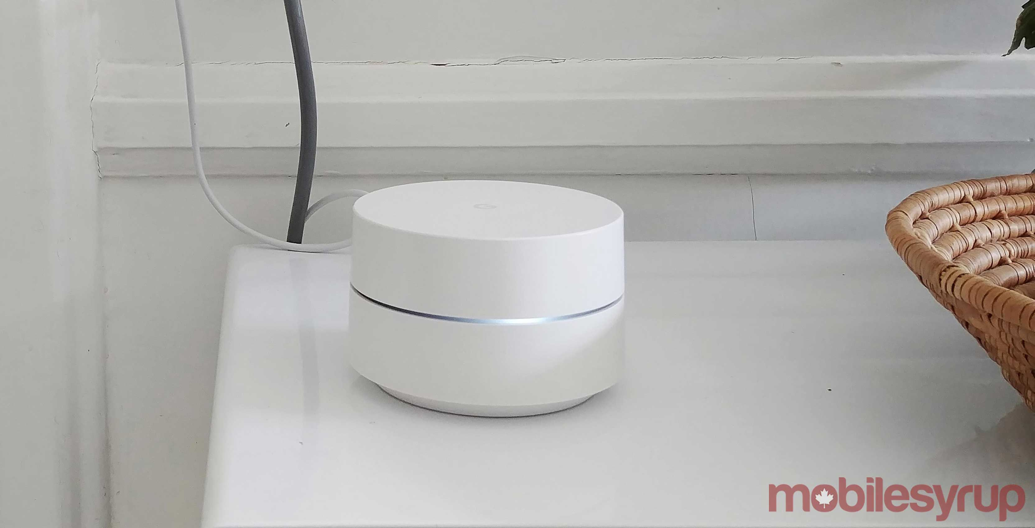Google Wifi in kitchen