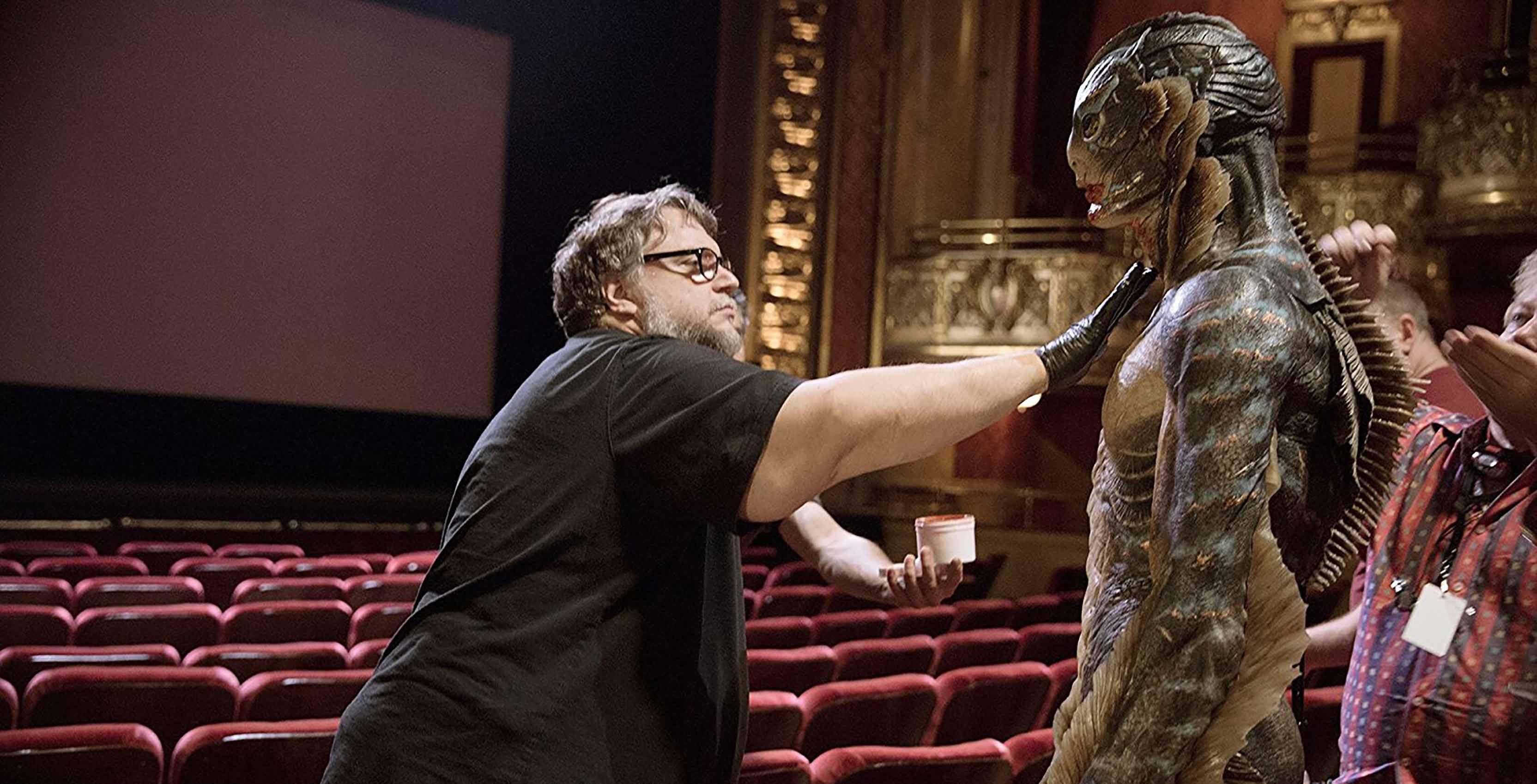 Guillermo del Toro Shape of Water fish man