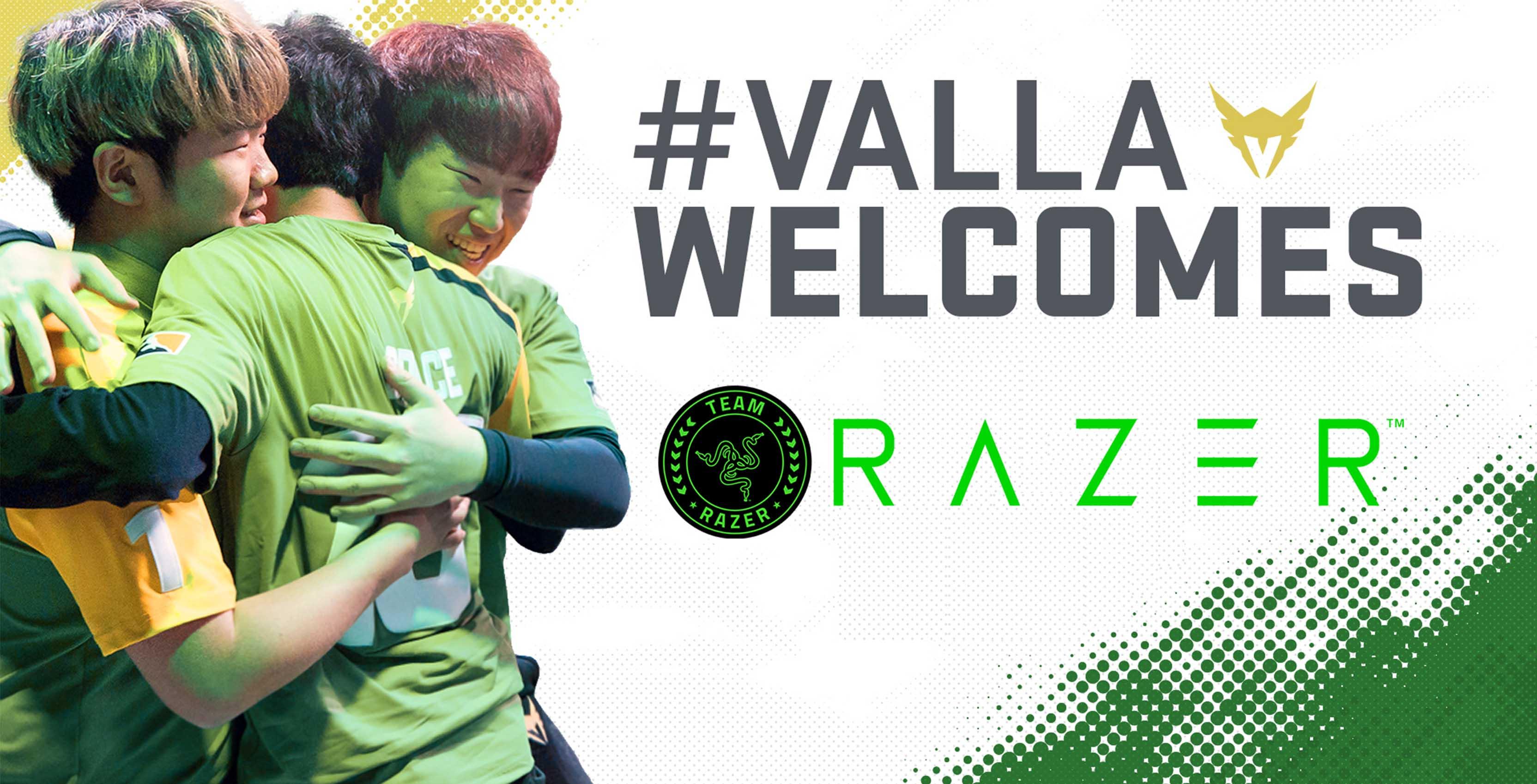 LA Valiant joins Team Razer