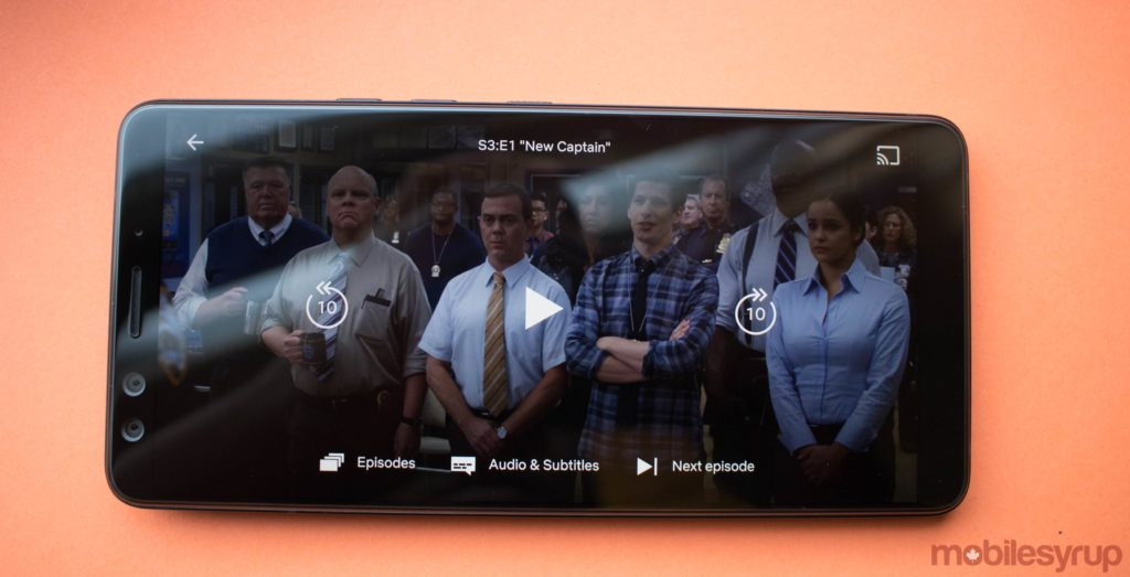 Netflix introduces forward, rewind and skipping buttons on mobile
