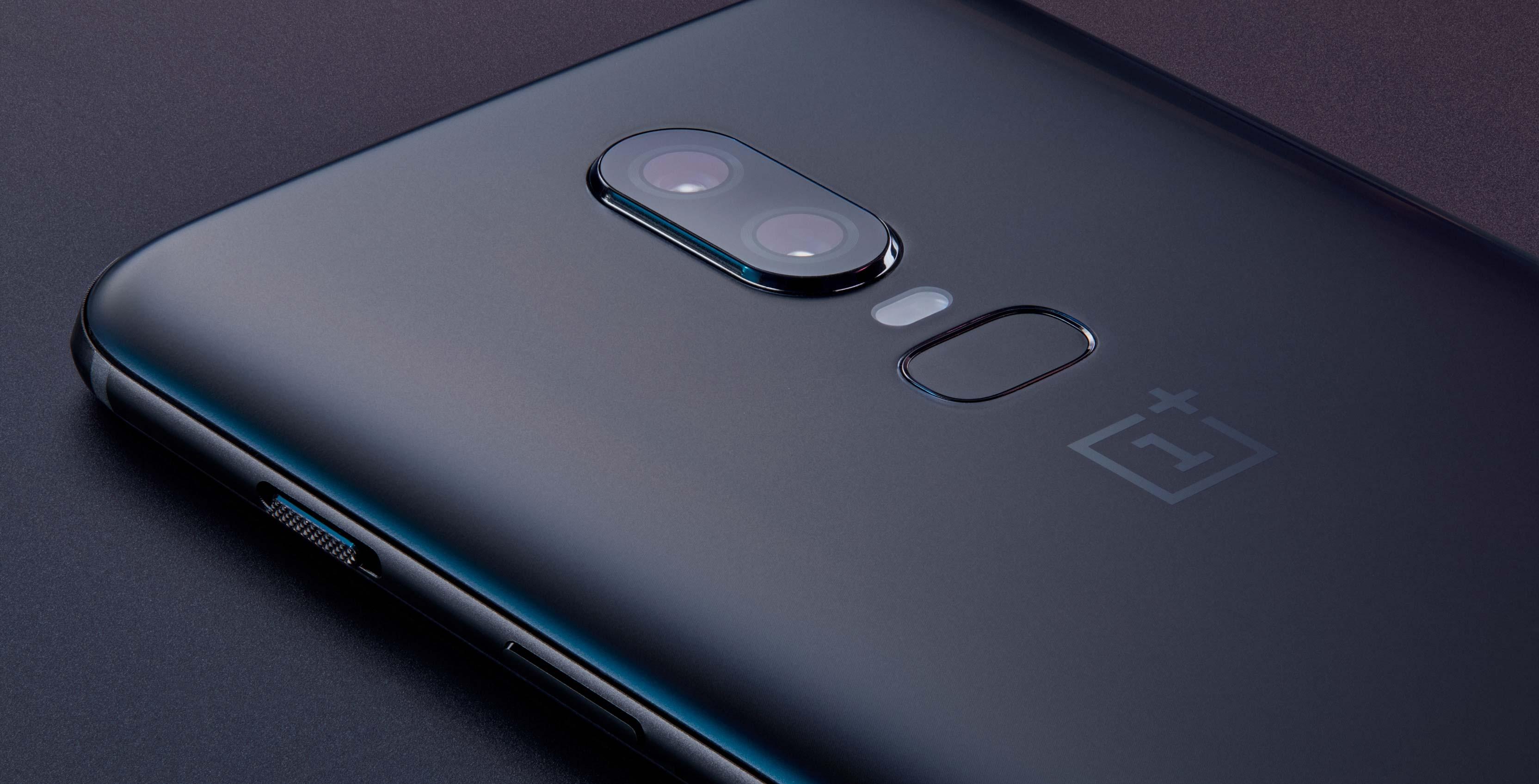 OnePlus 6 back