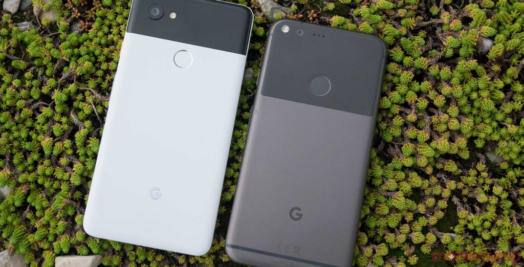 Google is no longer selling the Pixel 2 or Pixel 2 XL in Canada