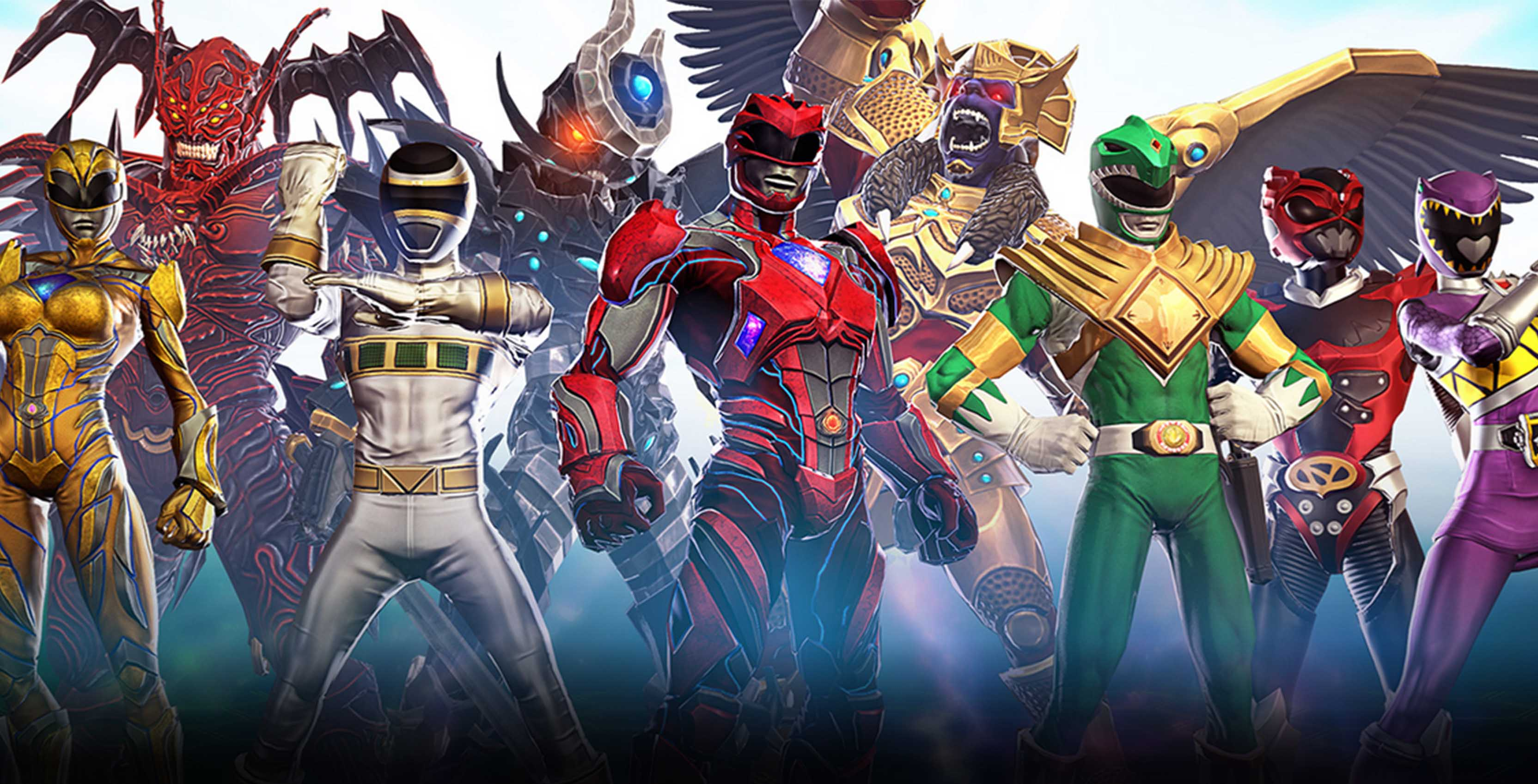 Power Rangers from Legacy Wars