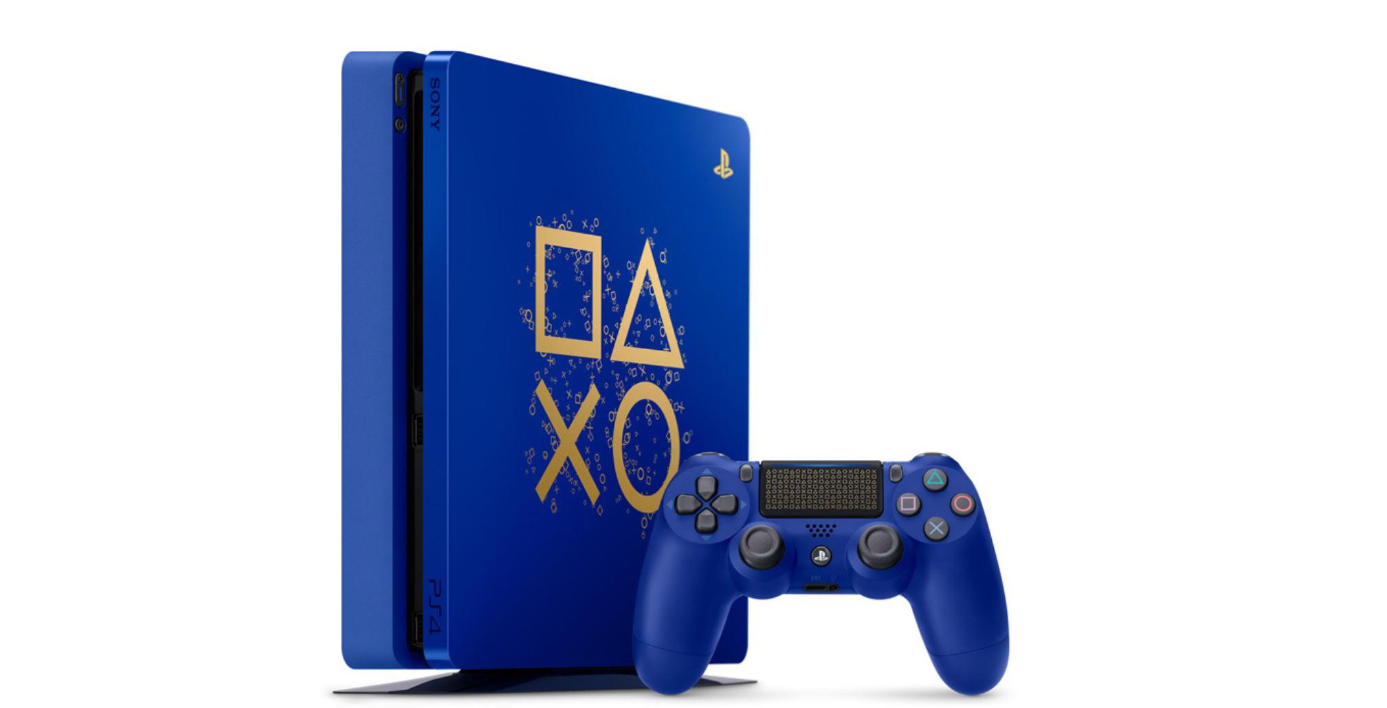 Blue PS4 Slim