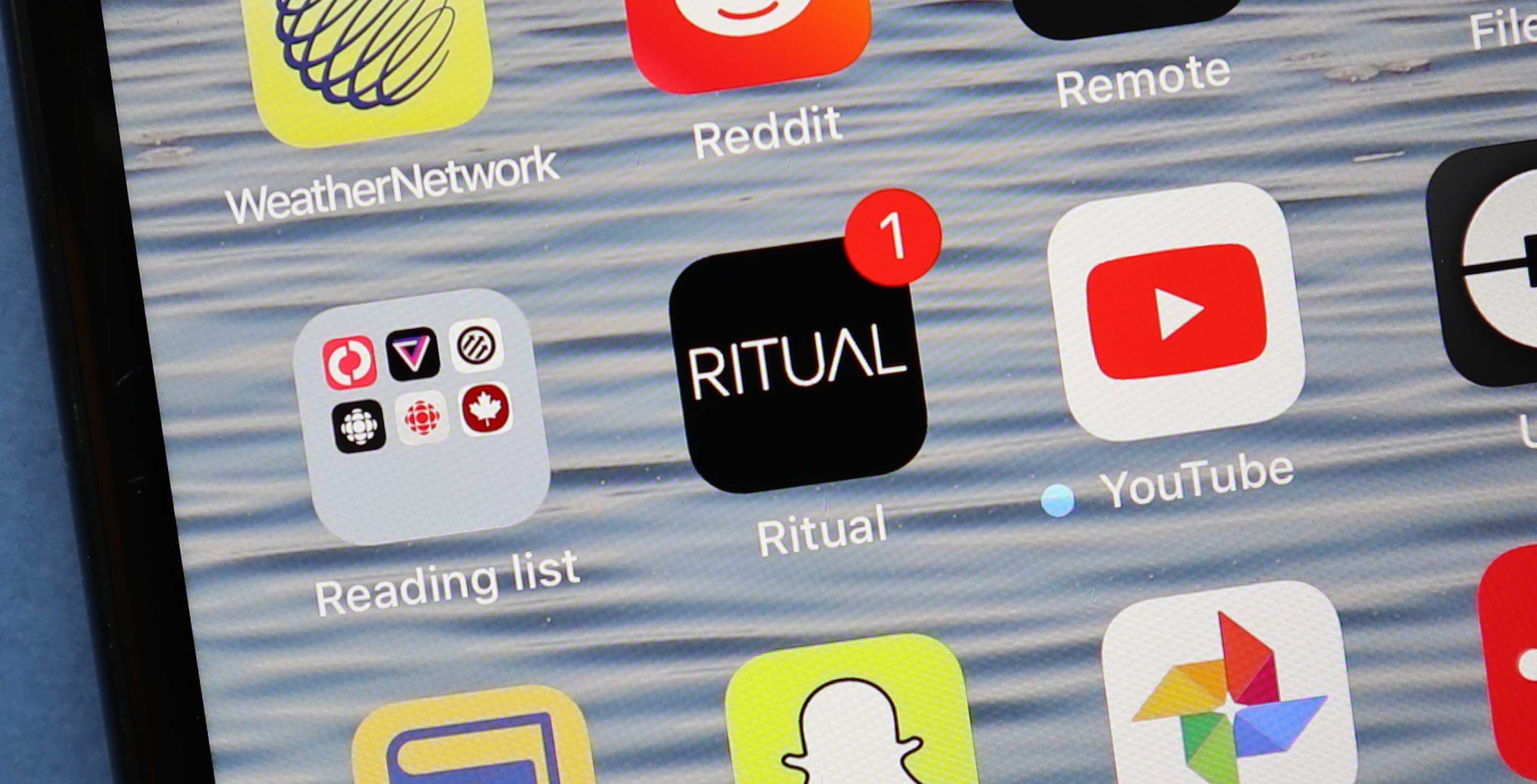 Ritual app