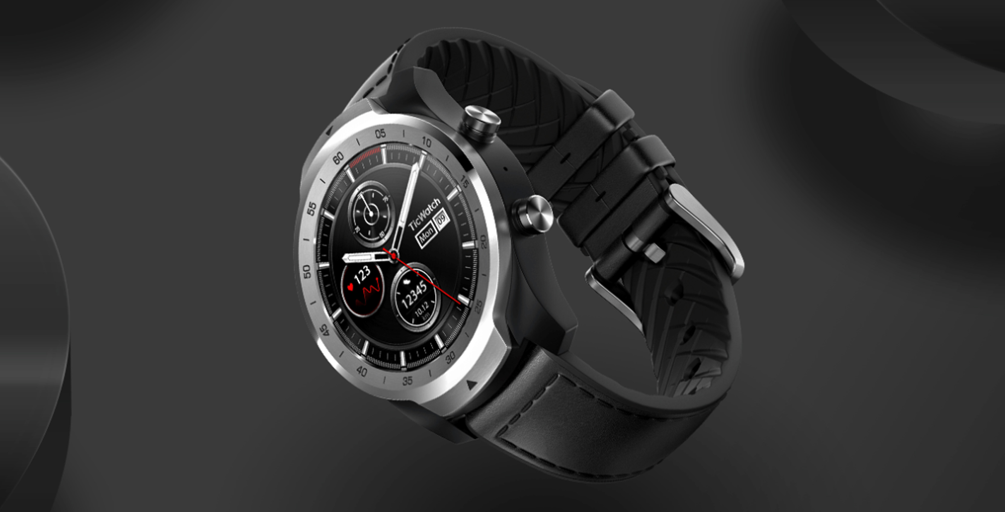 New Wear OS watch features two screens to save power
