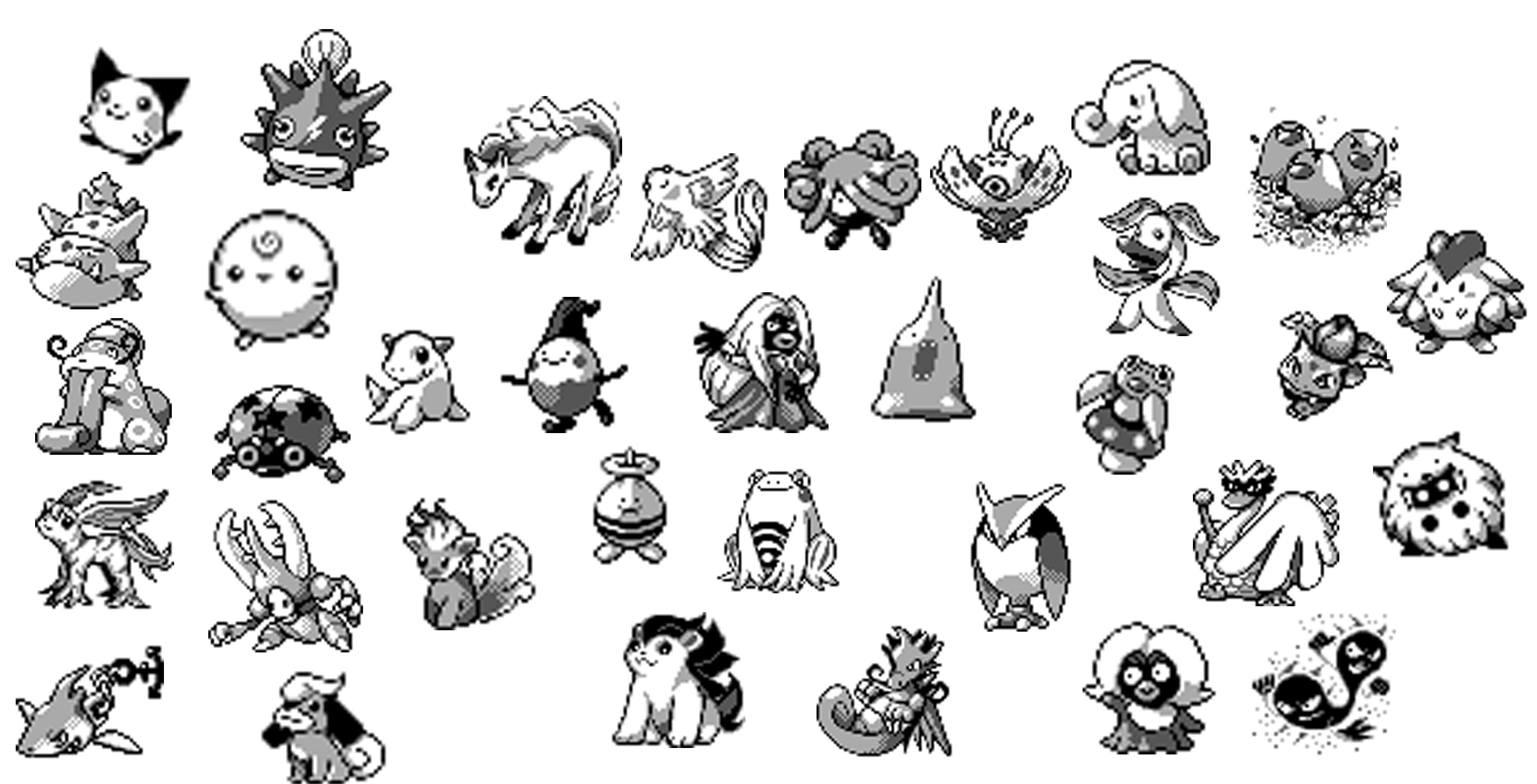 Dataminers have found unreleased Pokémon sprites in Gold and Silver