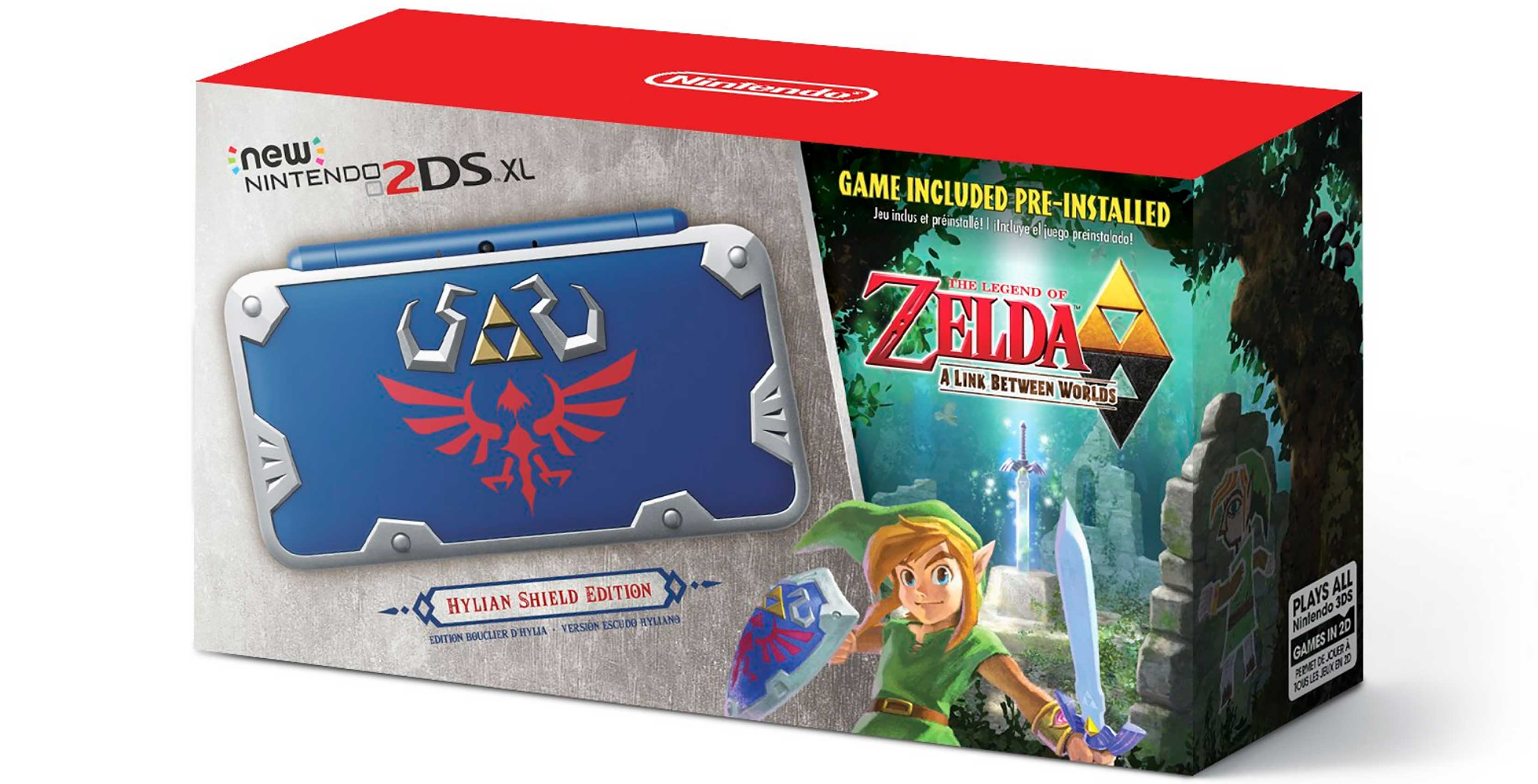 Zelda 2DS XL