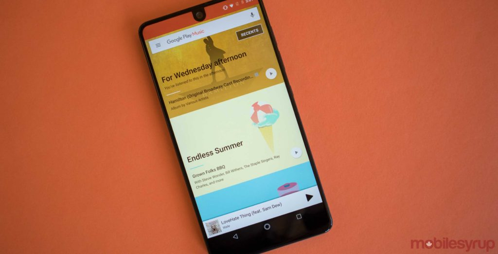Google is slowly tearing down Google Play Music's services