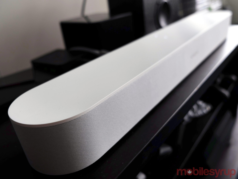 Sonos Beam angle