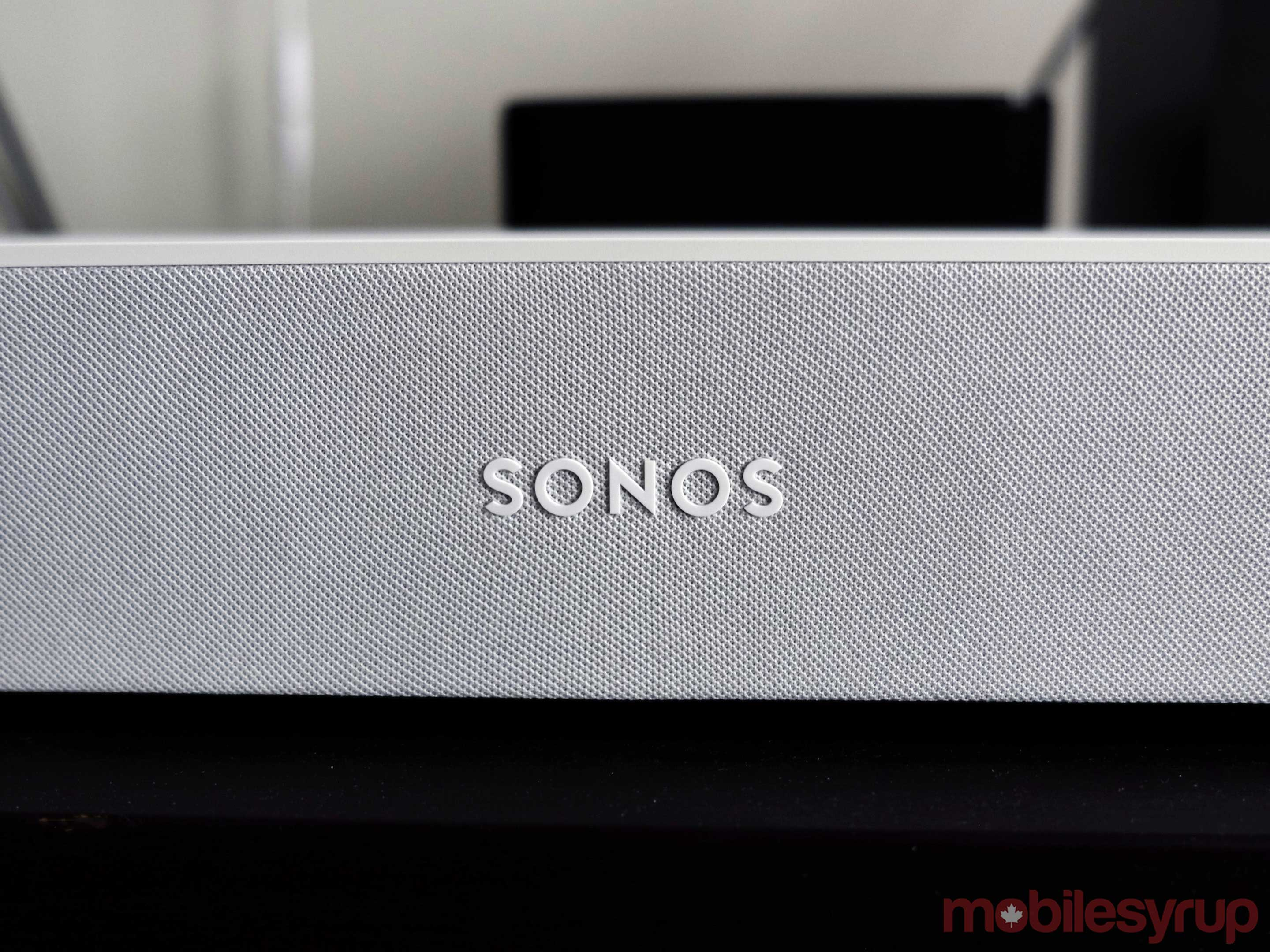 Sonos Beam close up