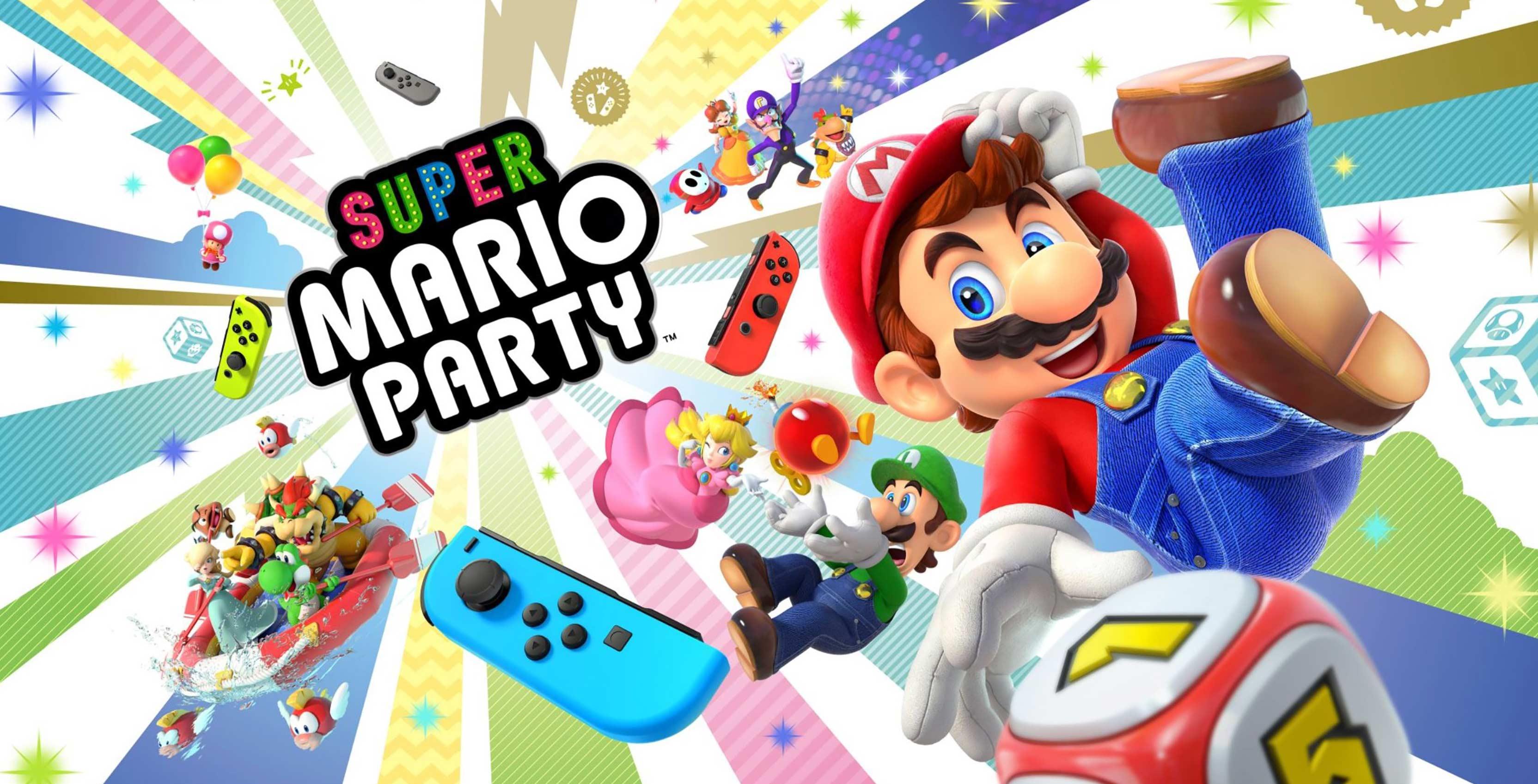 Nintendo Shows Off Super Mario Party And Smash Bros Ultimate