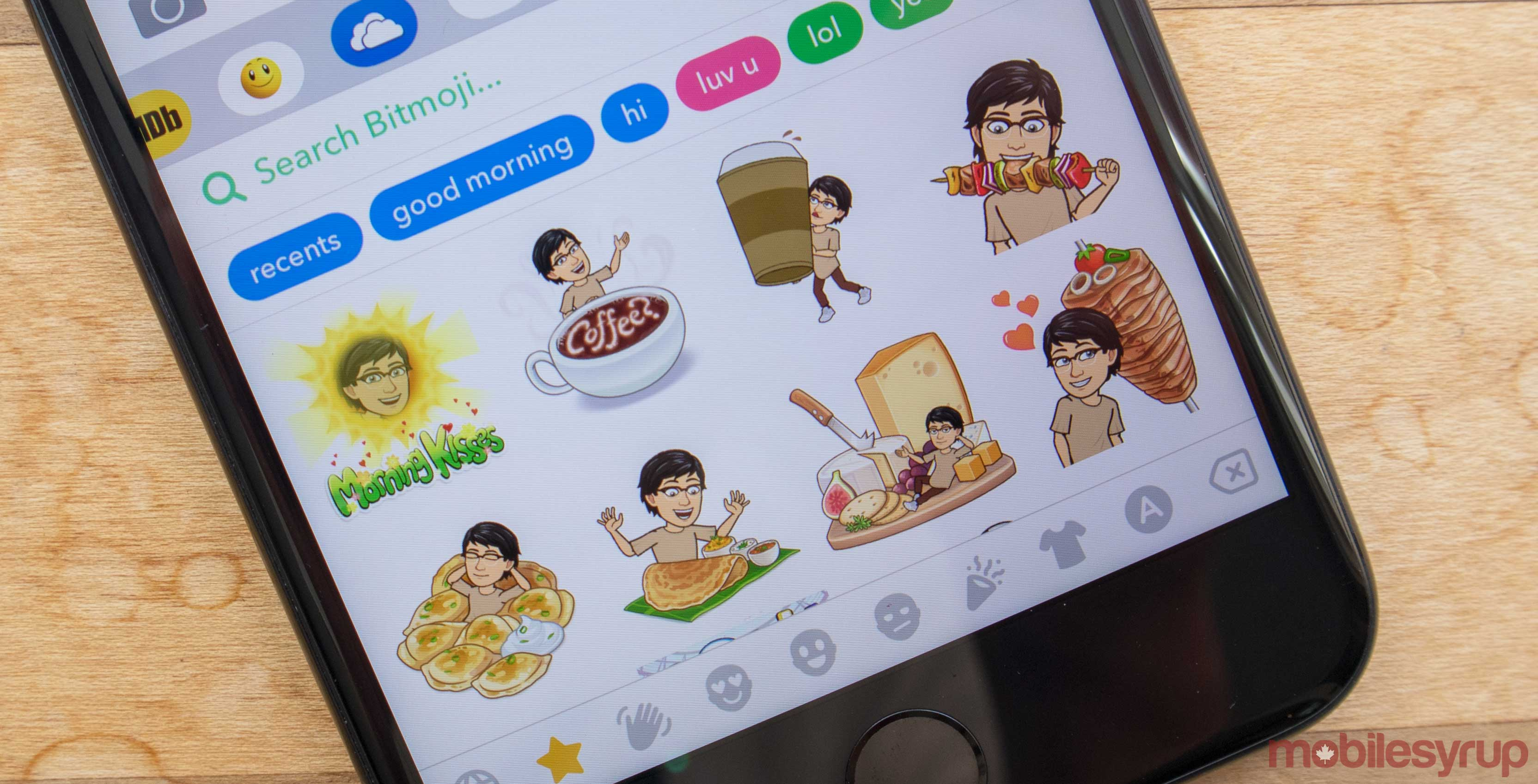 0ff80366d14 Snapchat's personalized Friendmojis are soon going to become stickers in  the iOS Messenges app.