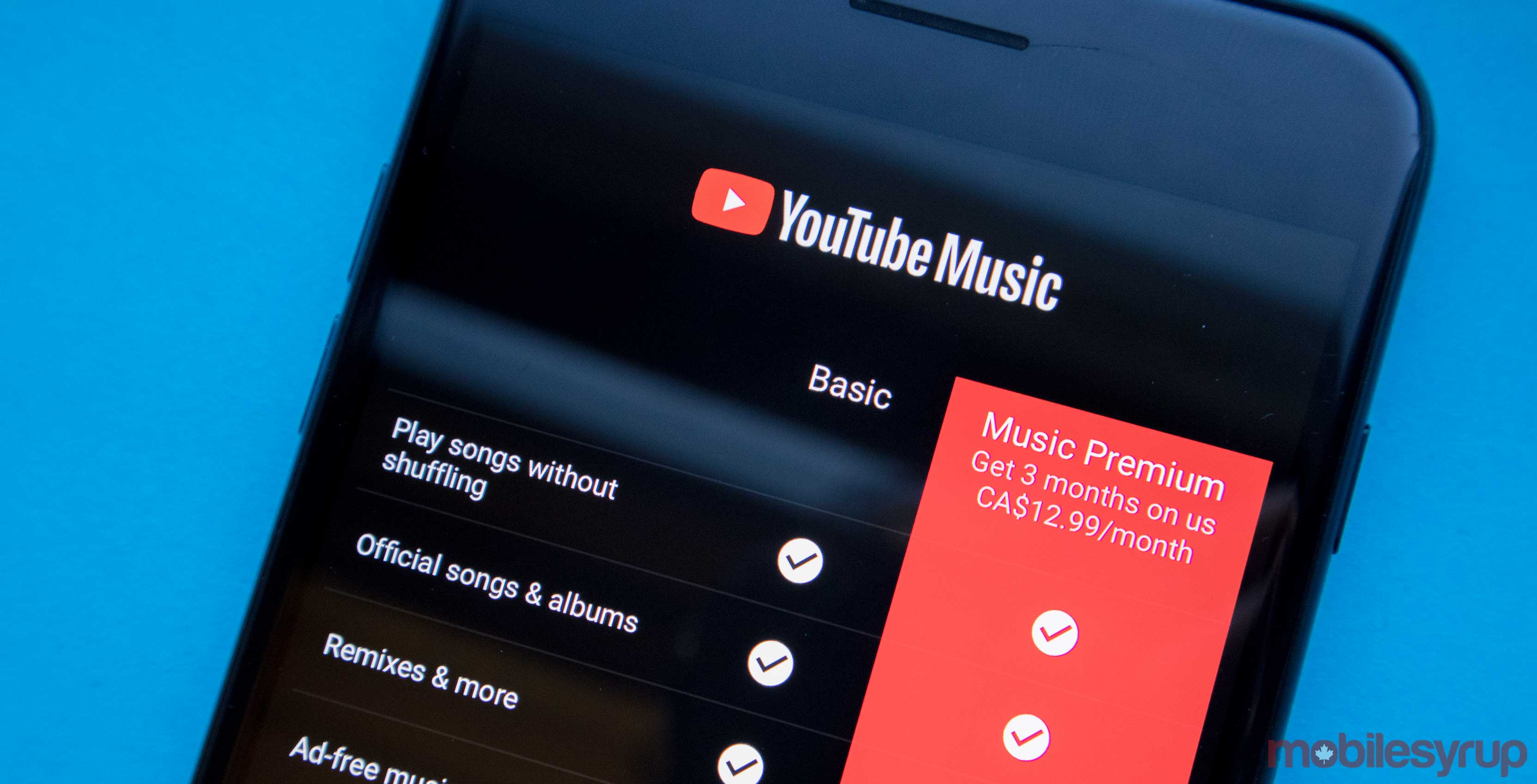 It's more expensive to subscribe to YouTube Music on iOS