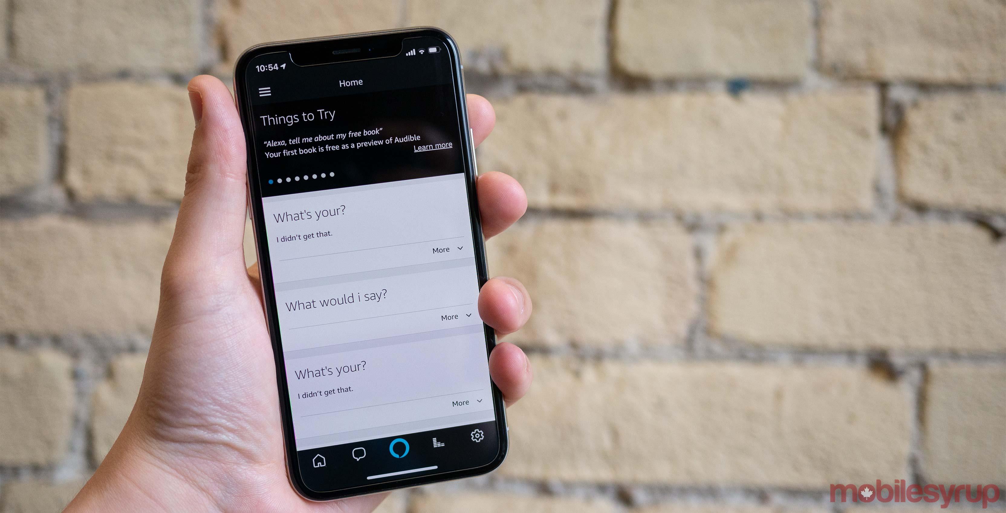 Alexa for iOS