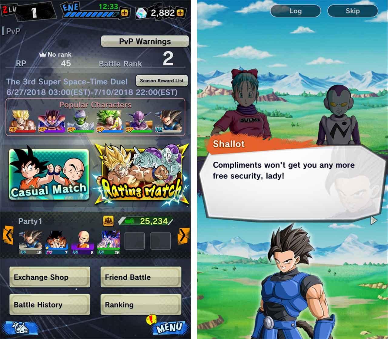 Dragon Ball Legends story