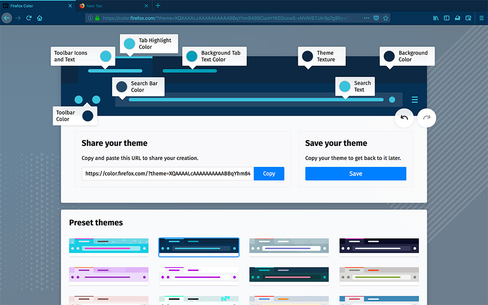 Firefox Experiment Lets Users Customize Browser's UI Colors