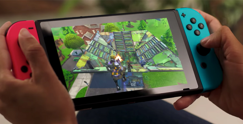 Fortnite for the Nintendo Switch