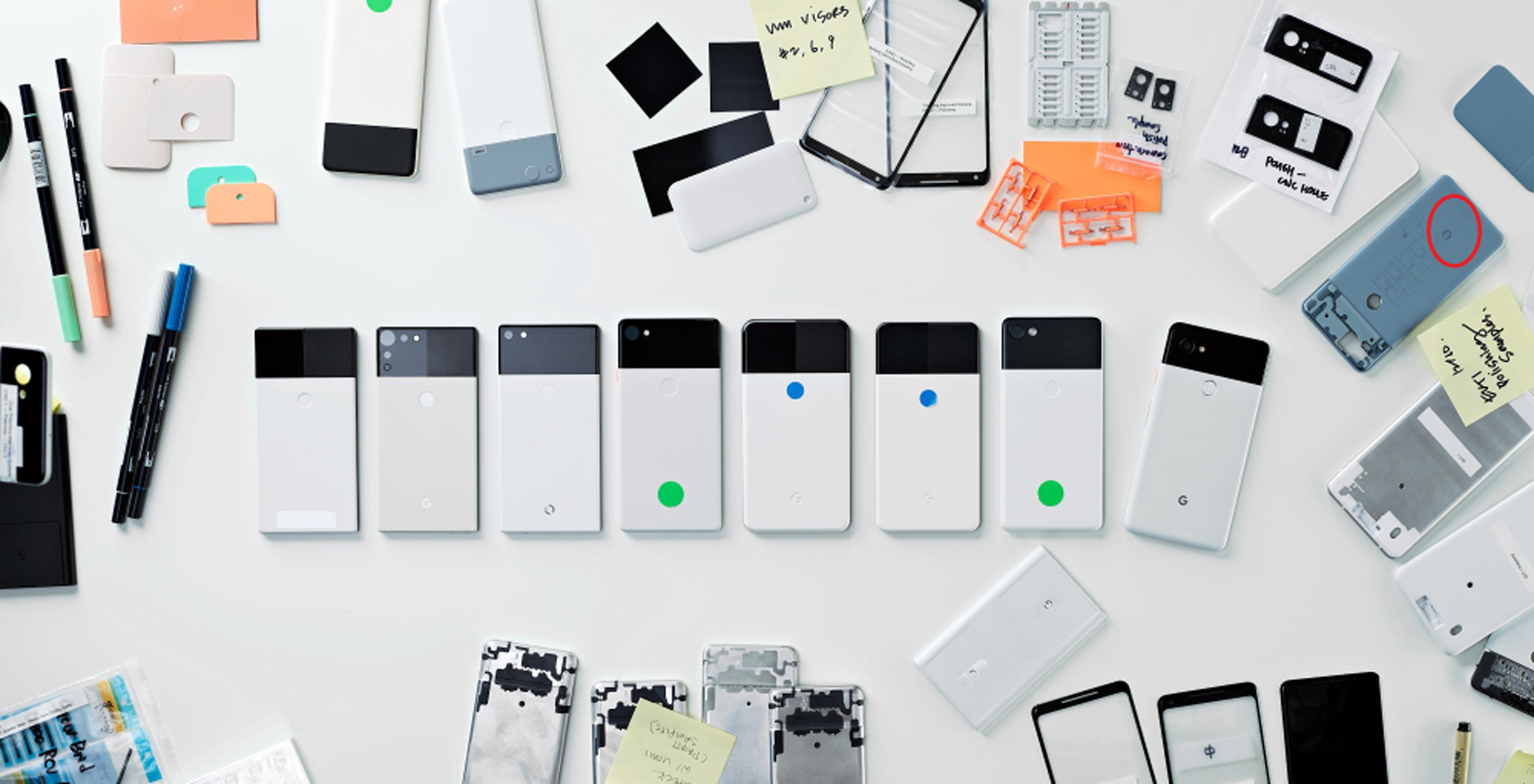 Pixel 2 prototypes