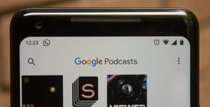 Google Podcasts in the Google app