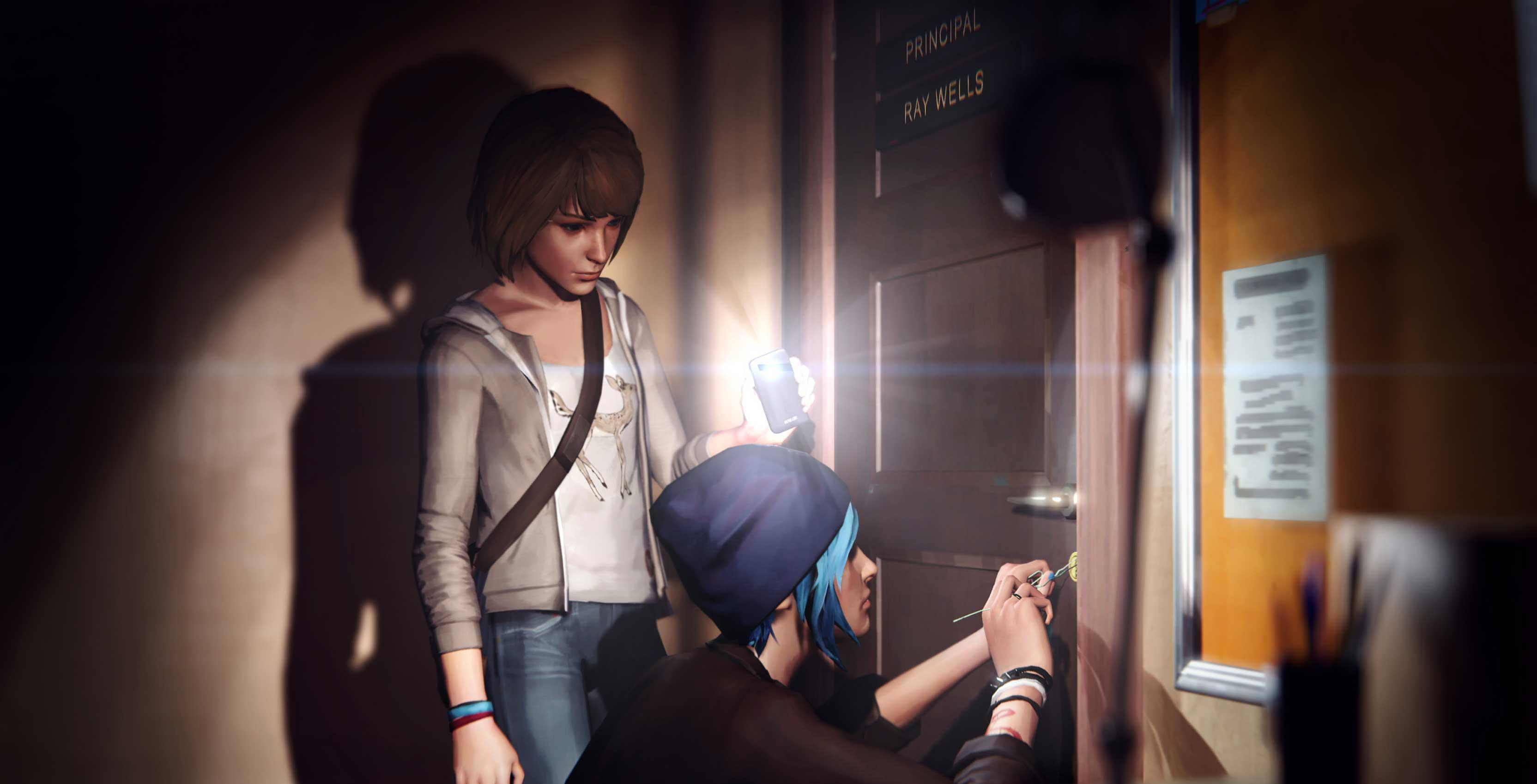 Life is Strange Max and Chloe