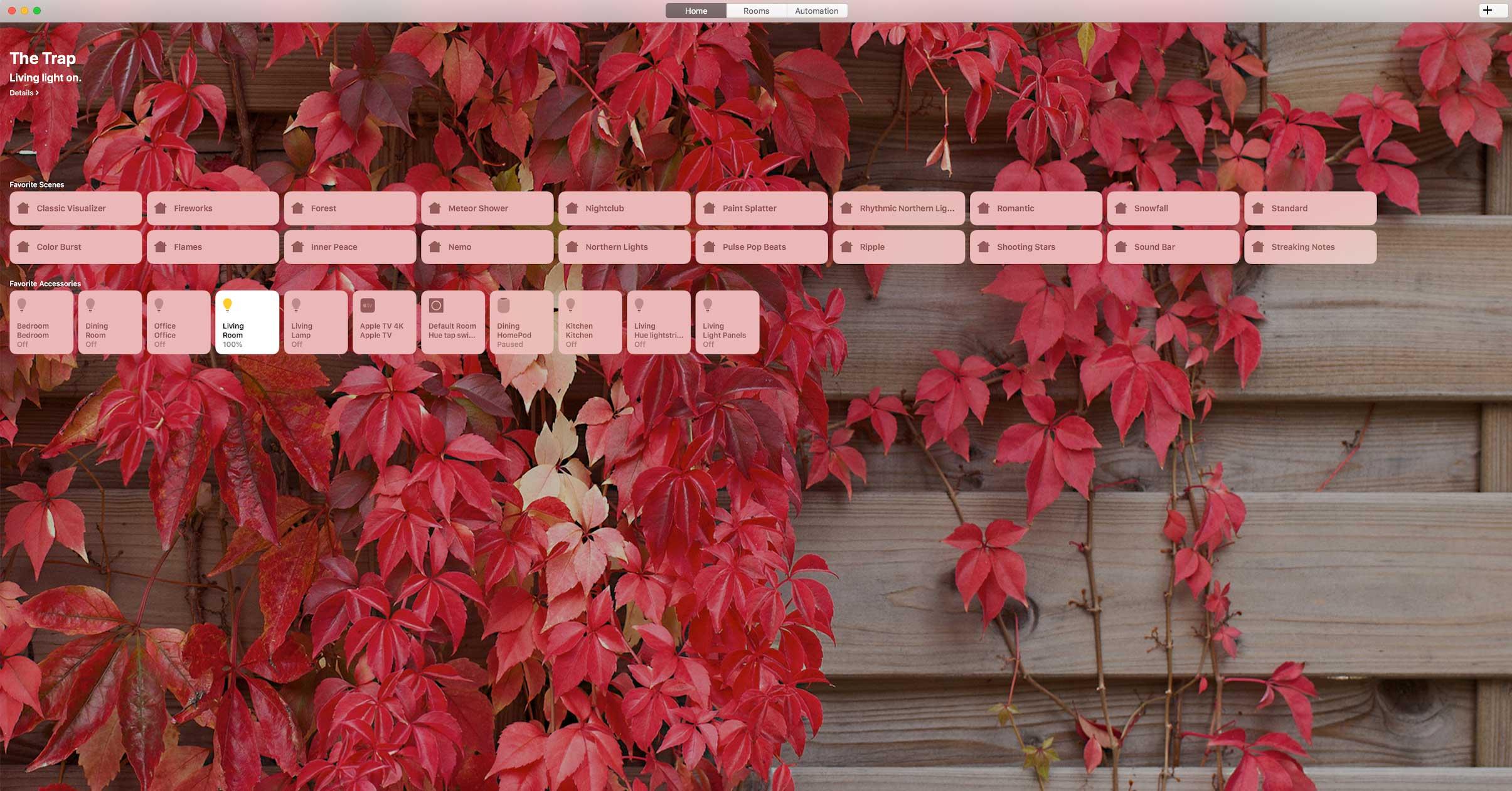 macOS Mojave Home app