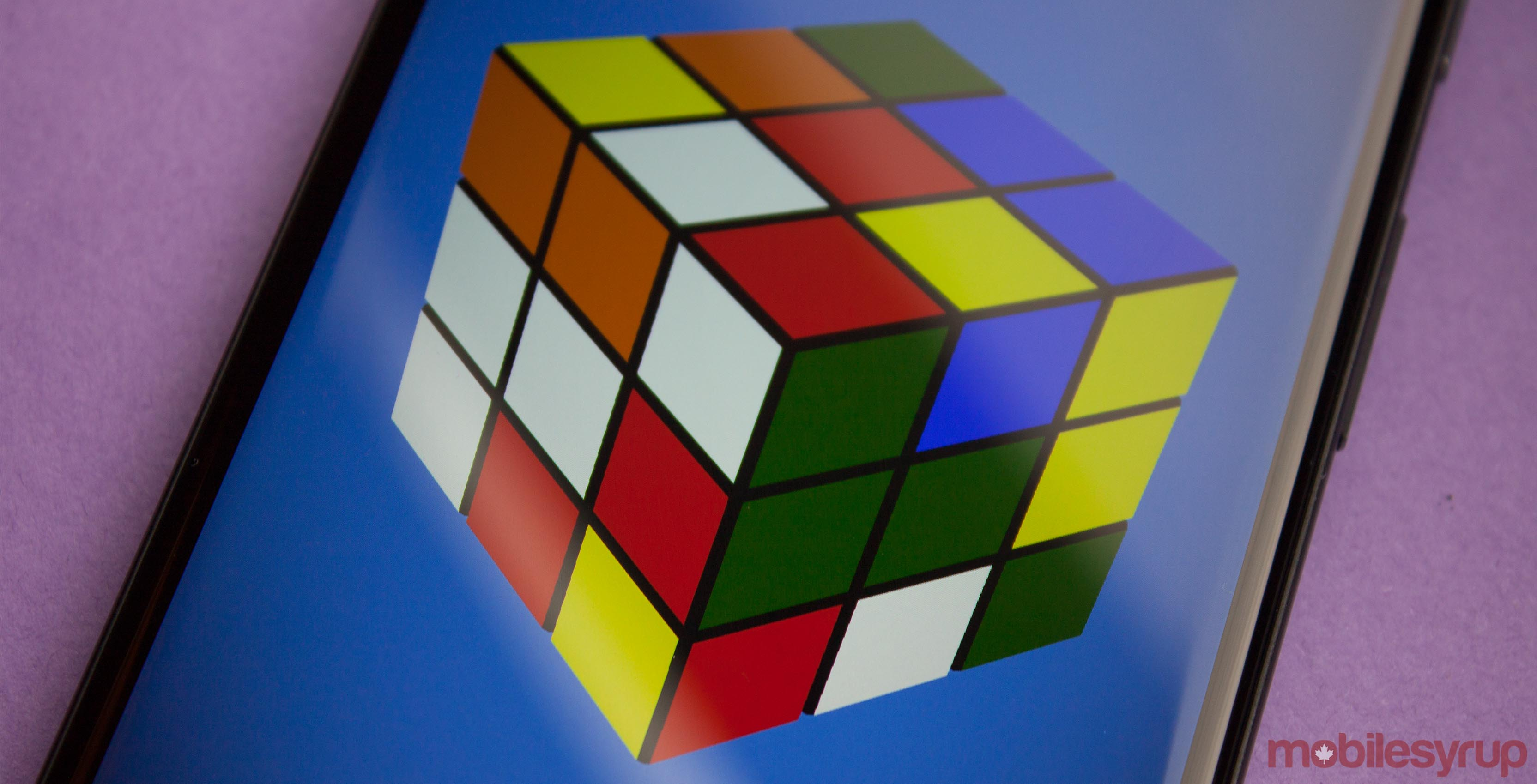 Rubik's Cube app on Android