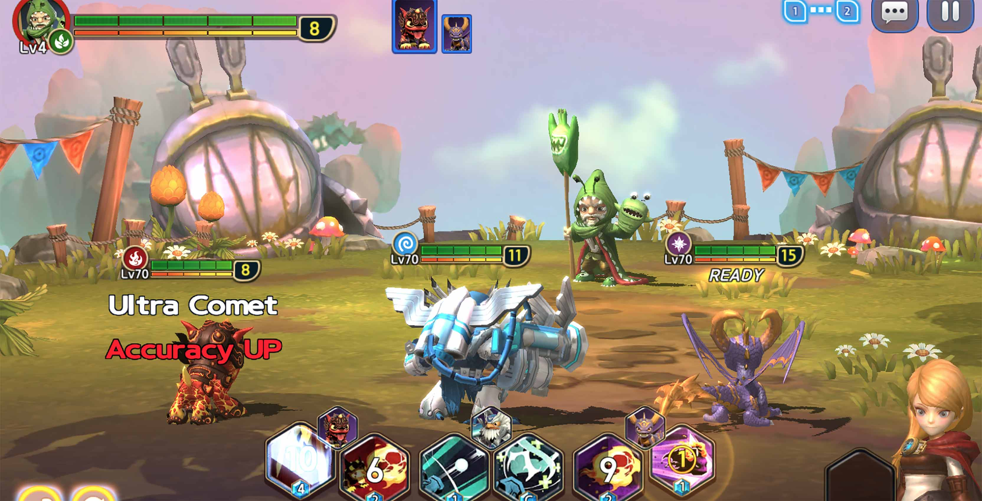 Toys To Life Series Skylanders Is Coming To Mobile As A Turn Based Rpg