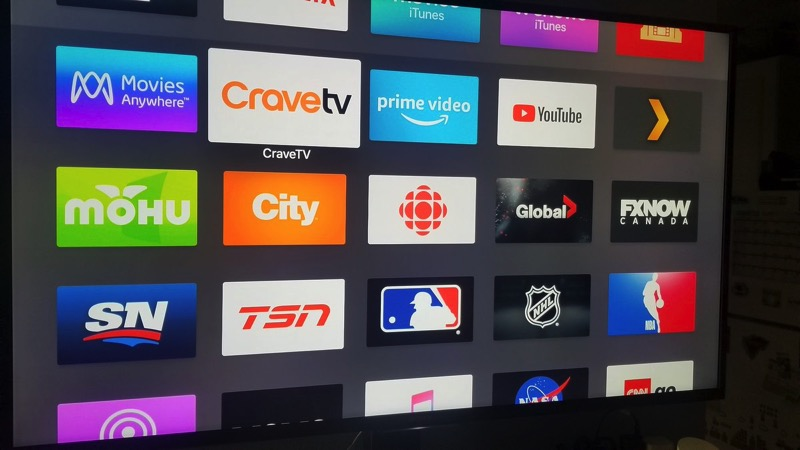 Apple TV TSN GO, RDS GO and CTV apps now available