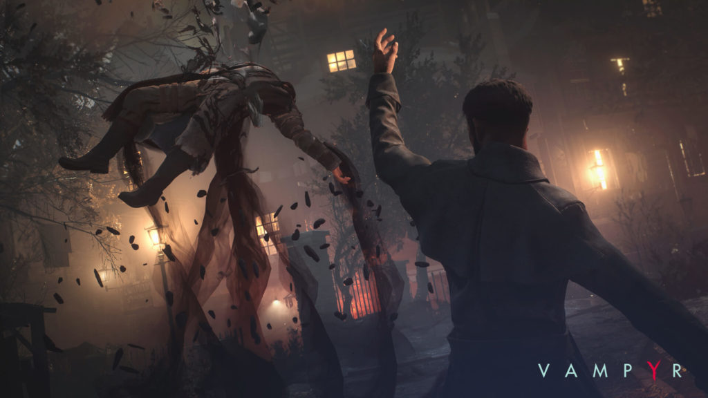 Fighting in Vampyr