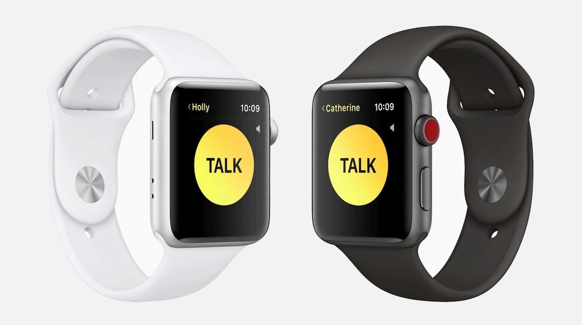 Apple re-enables Walkie-Talkie function on Apple Watches