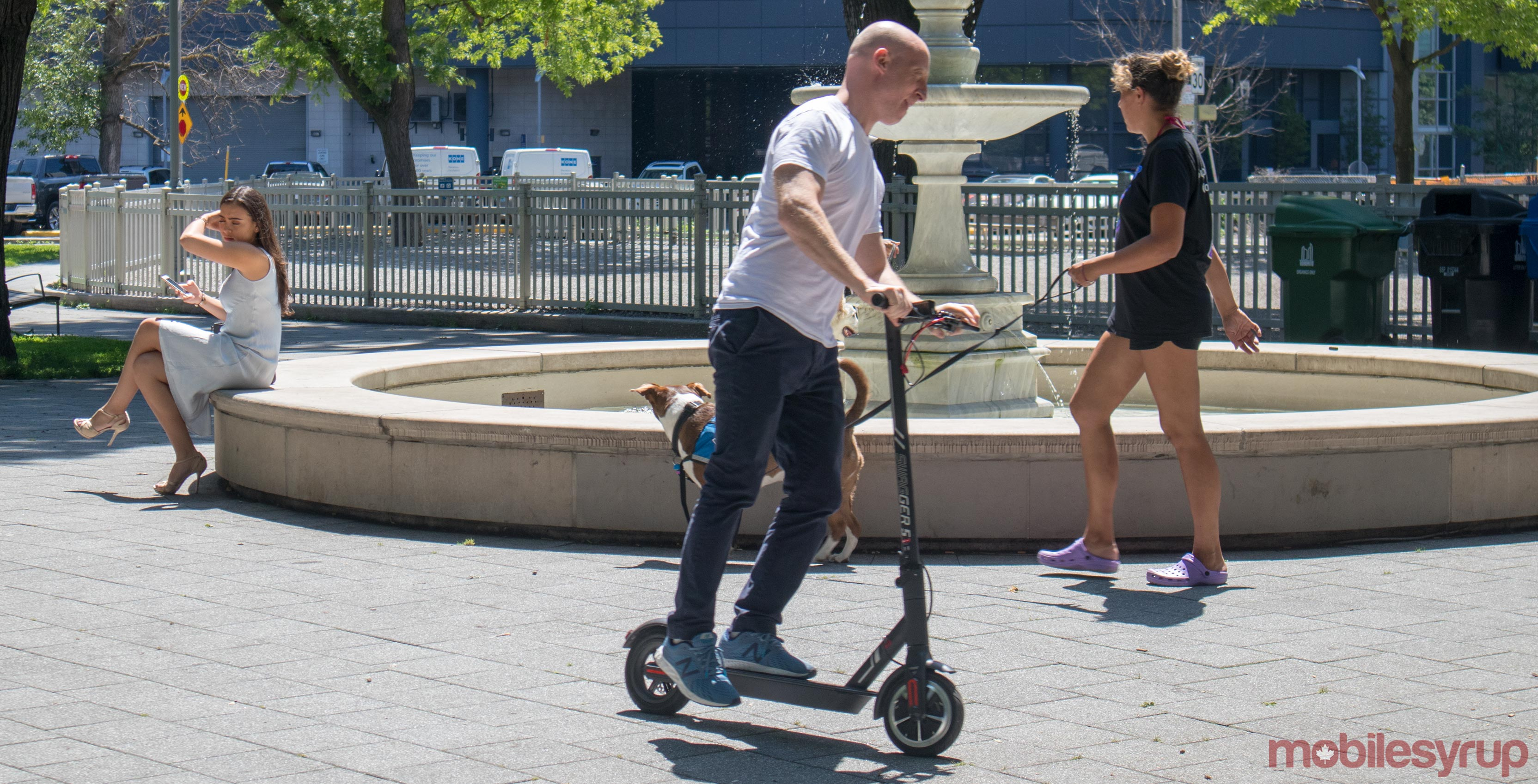 Swagtron scooter
