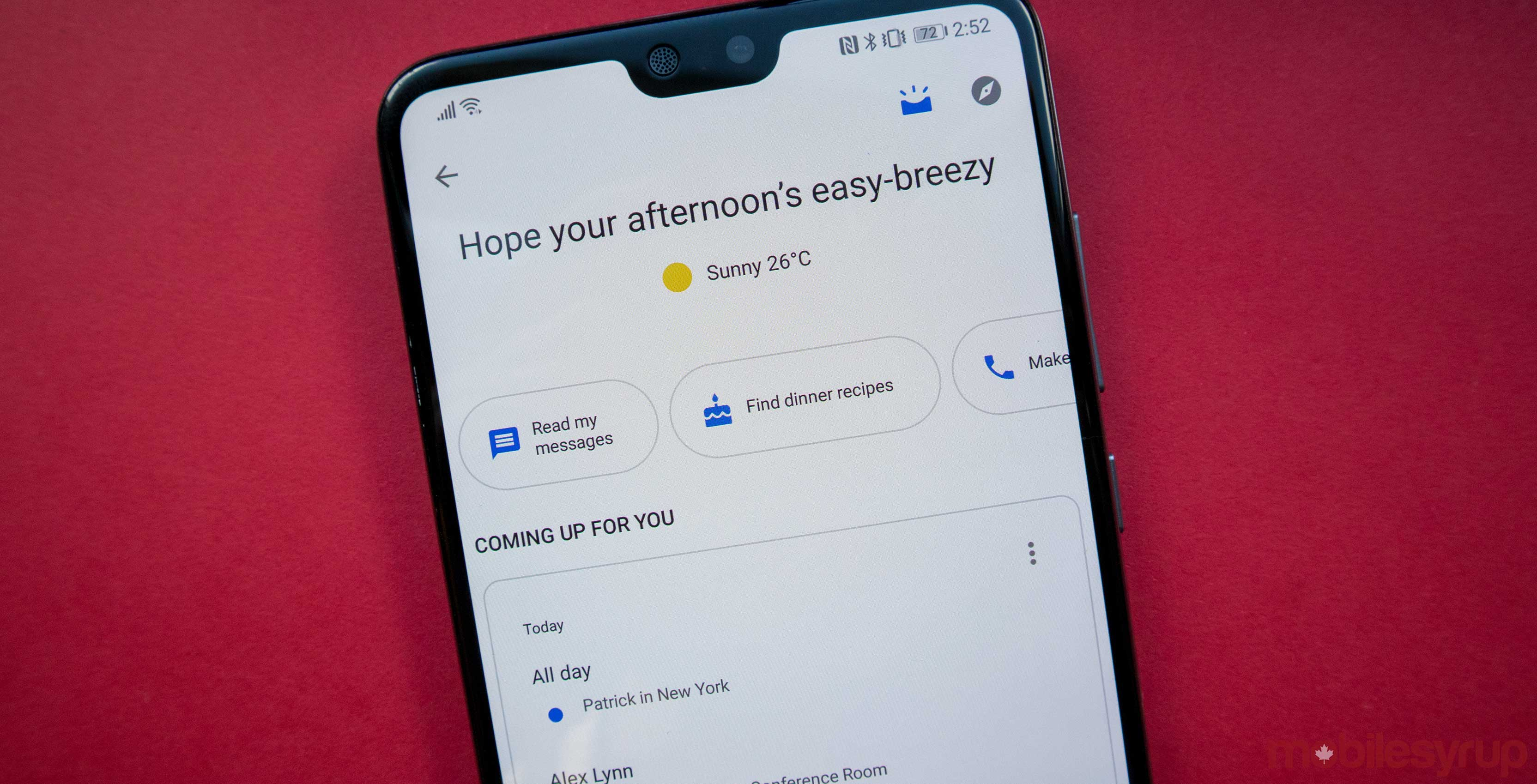 Google Assistant is adding new family features