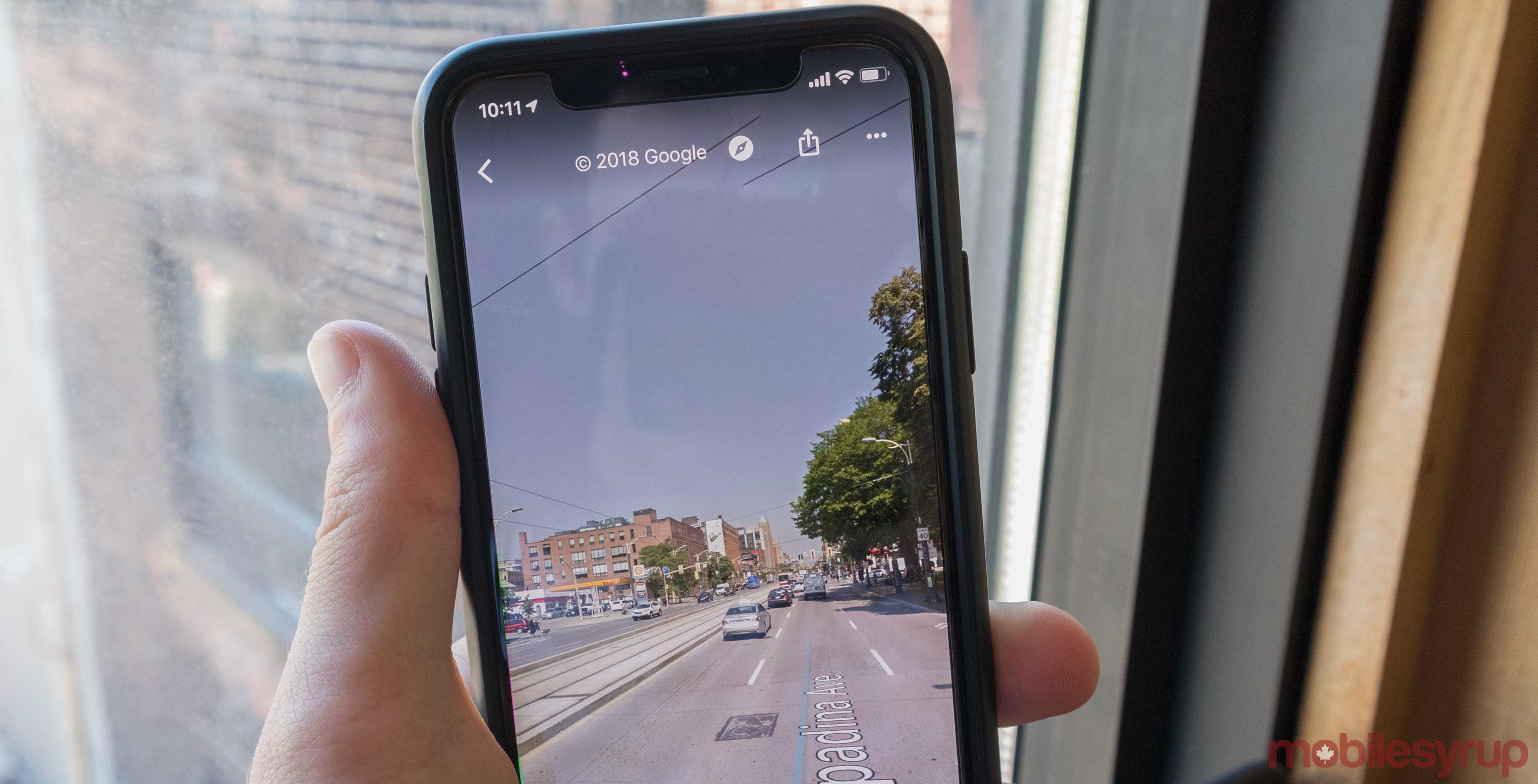 Google Maps' Street View on iOS now supports the iPhone X's