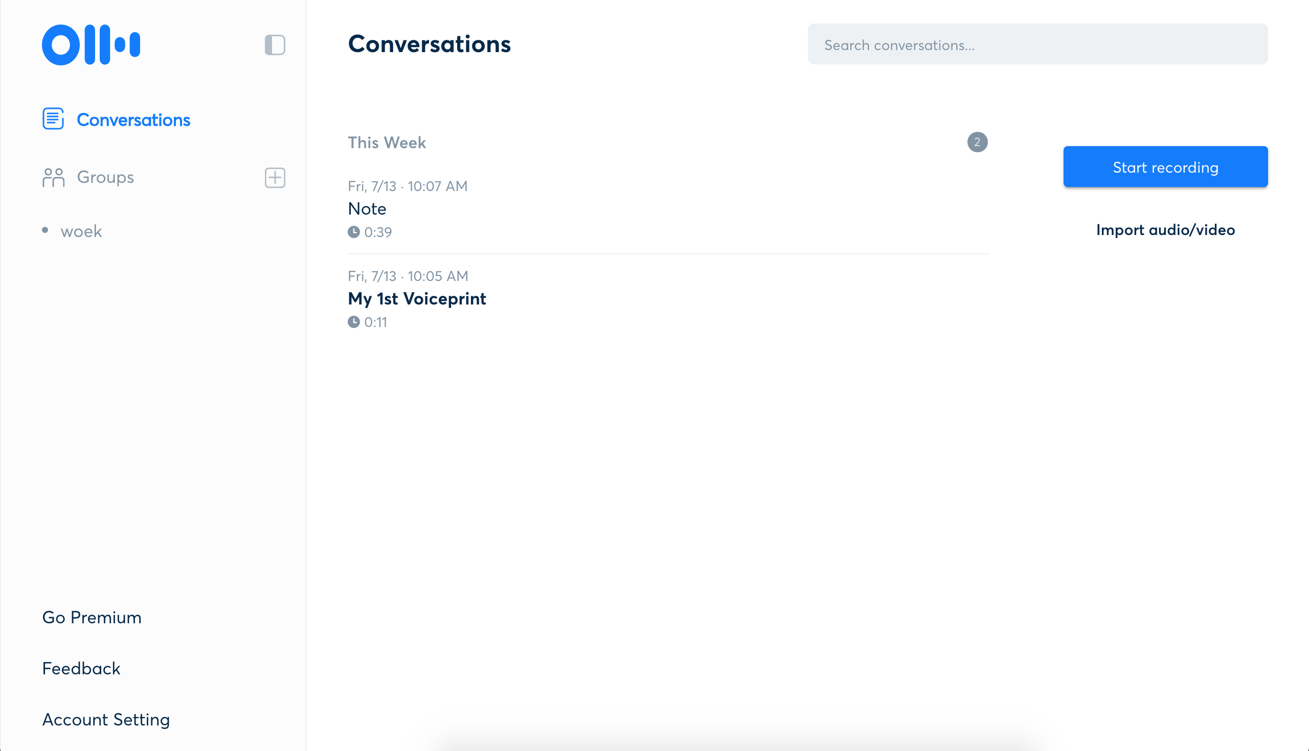Otter automatically transcribes your conversations [App of the Week]
