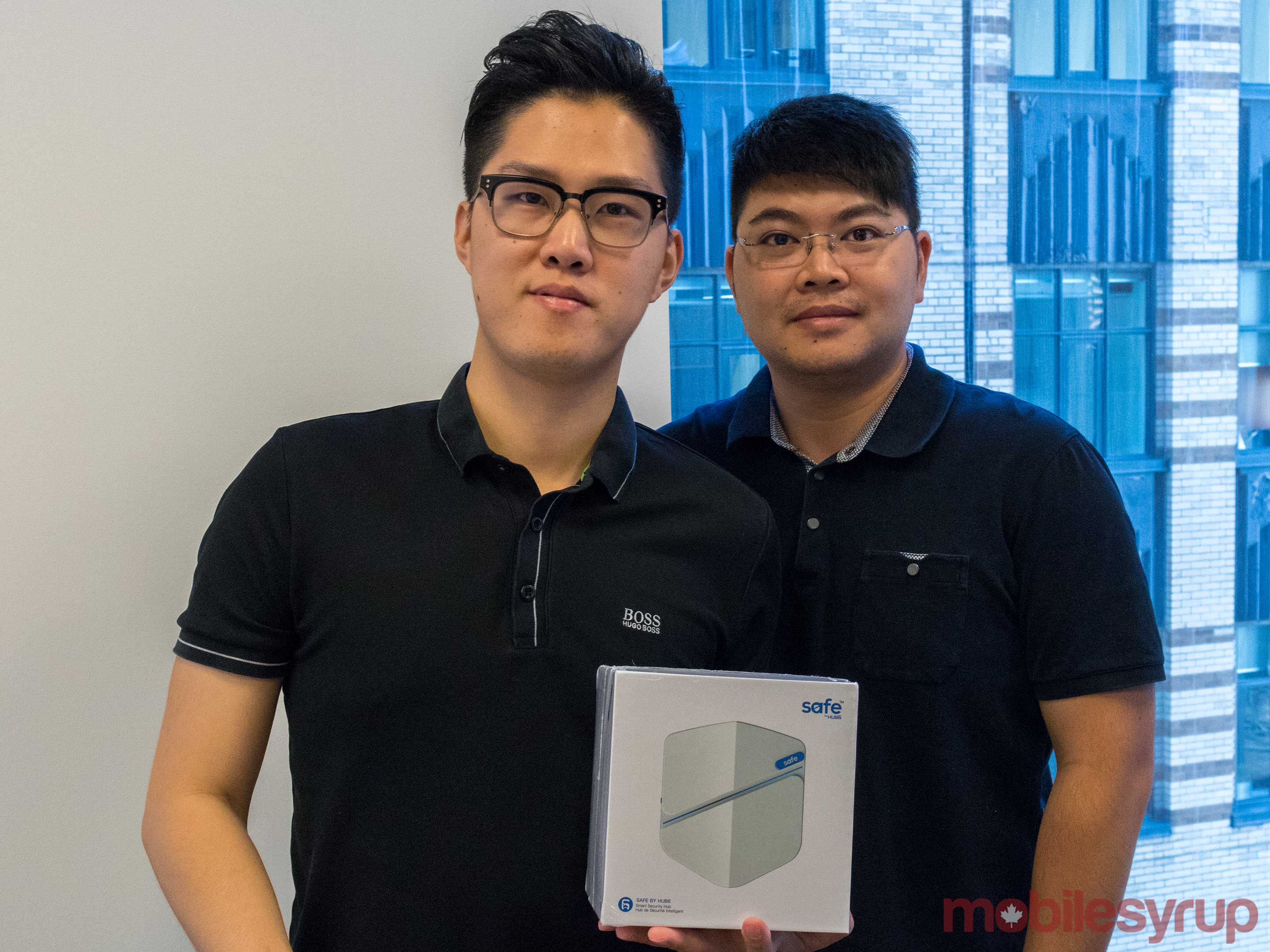 a photo of co-founders Ric Zhang and tony Chen