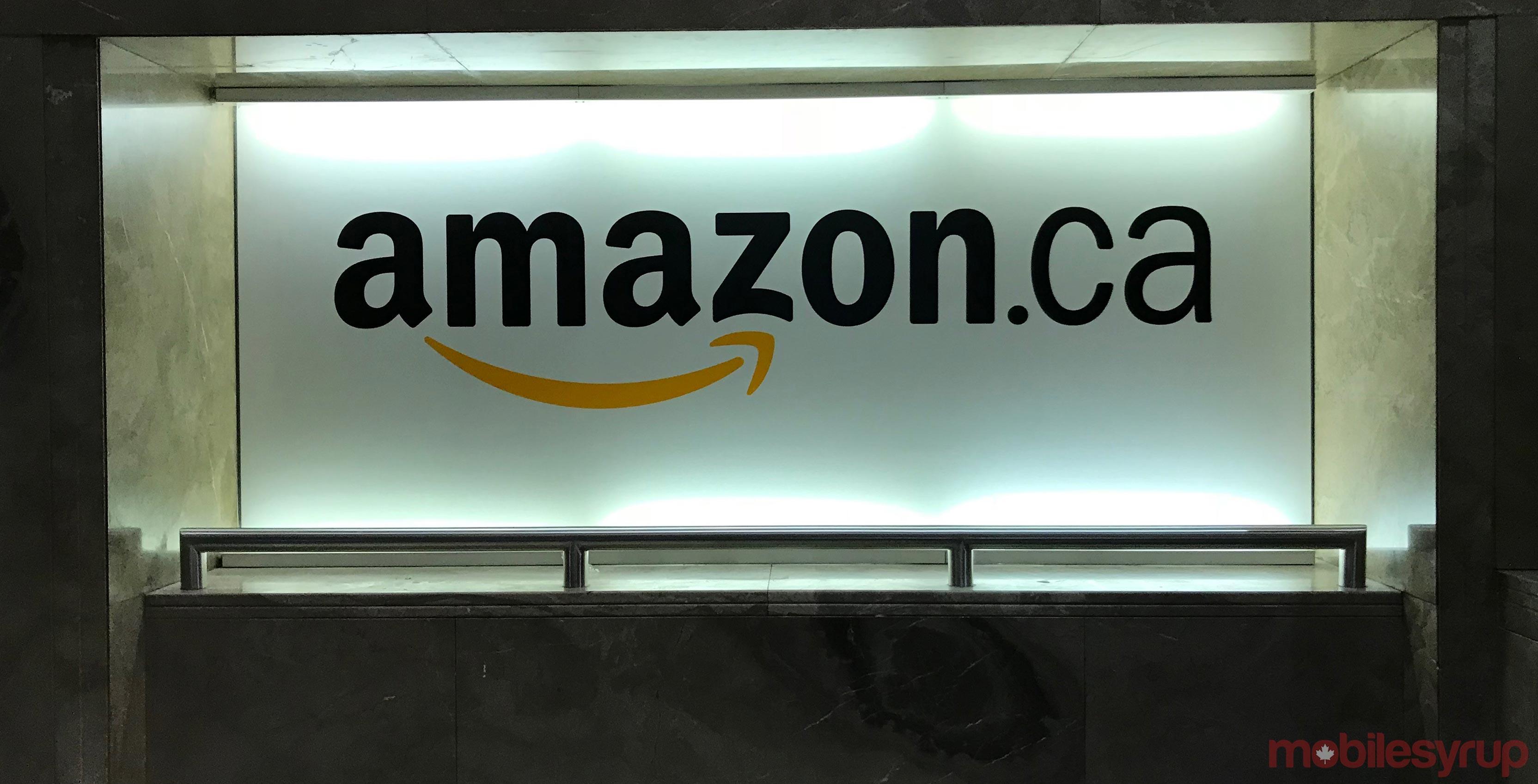Amazon Canada header
