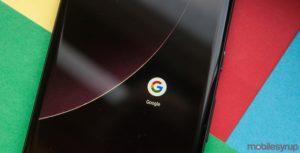 Google app on Pixel 2 XL