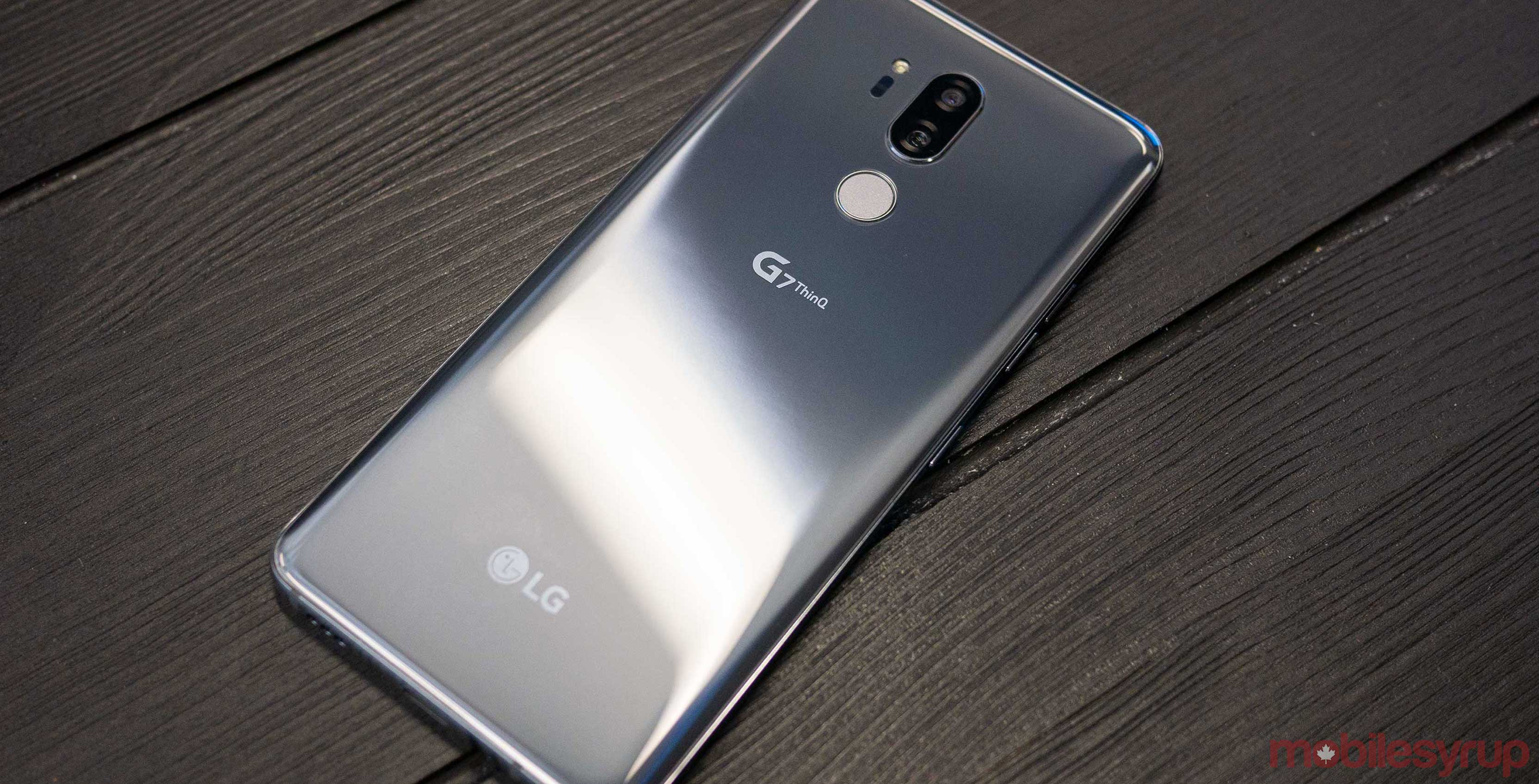 the LG G7 ThinQ