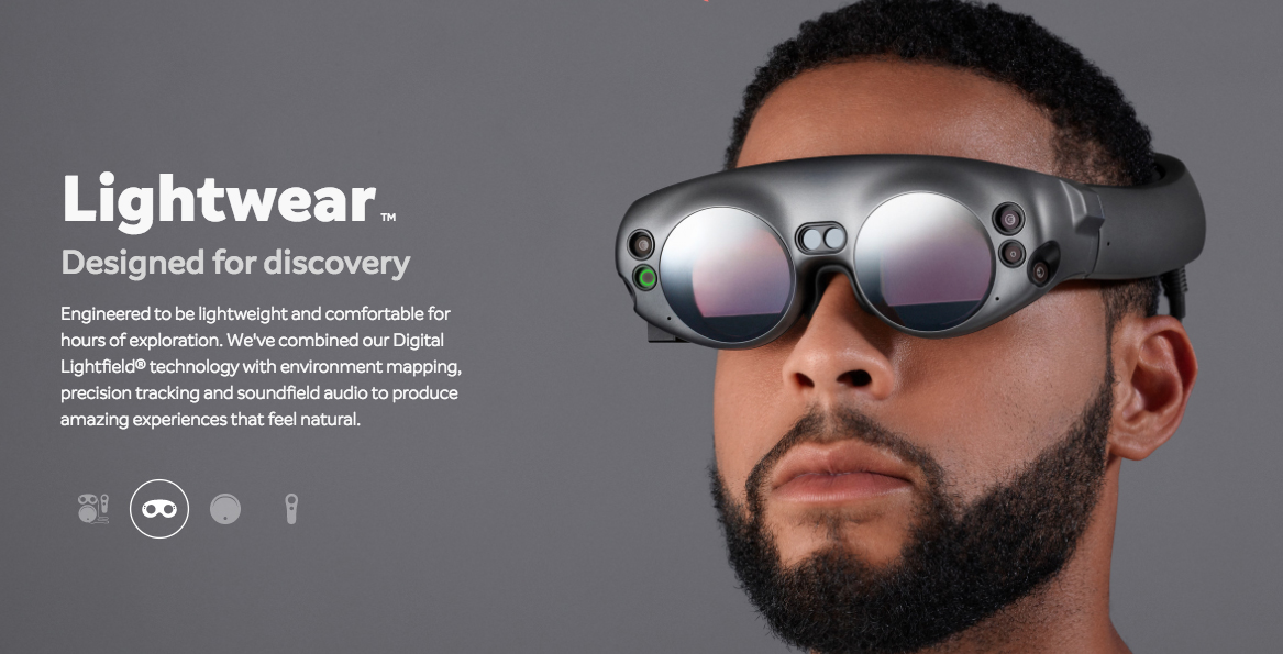 Magic Leap One headset