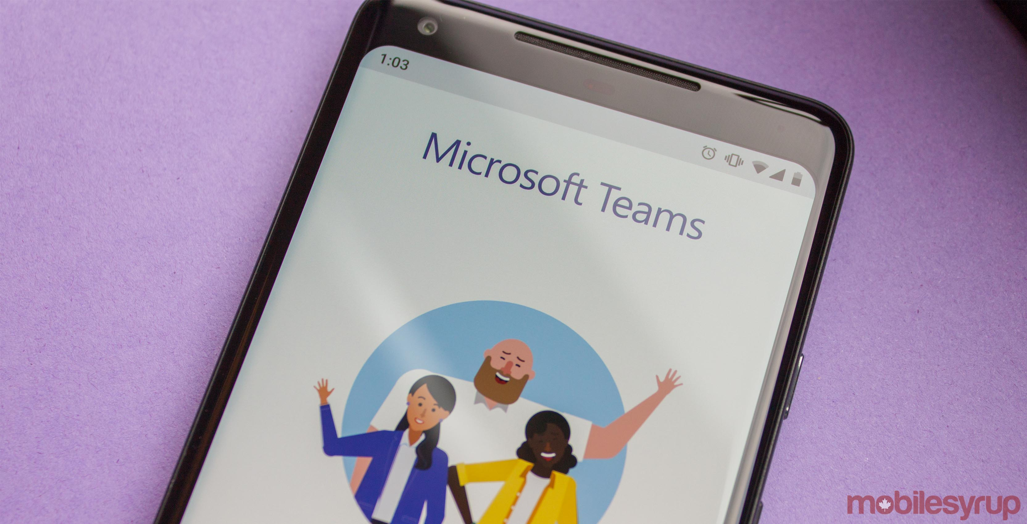 Microsoft Teams on Android