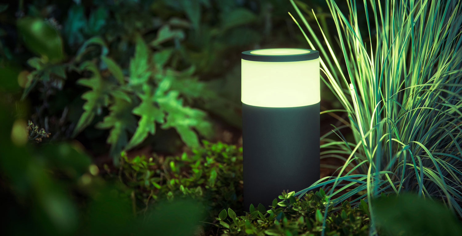 Philips' outdoor smart home Hue lights are now available in Canada