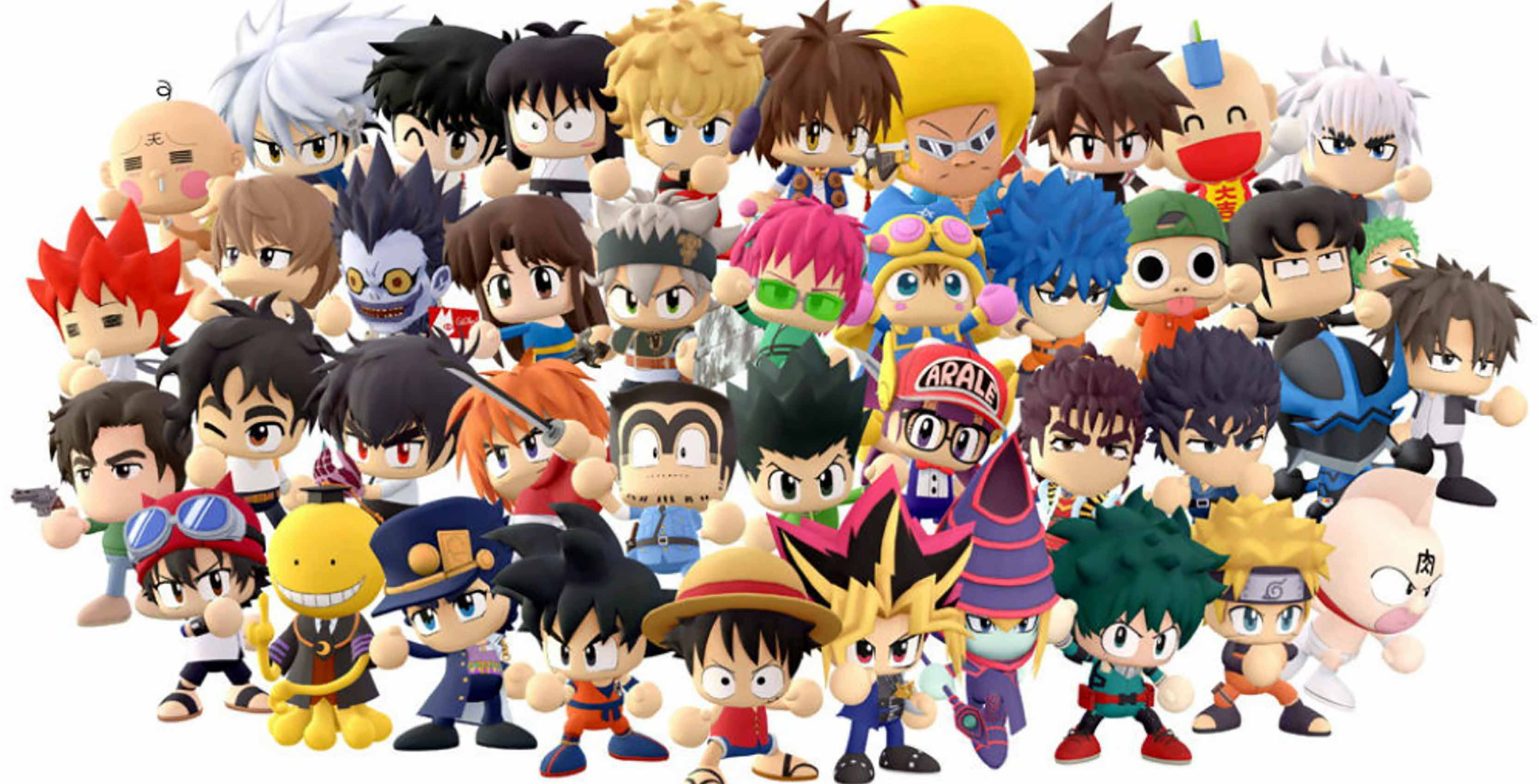 Konami announces Super Smash Bros -inspired Shonen Jump